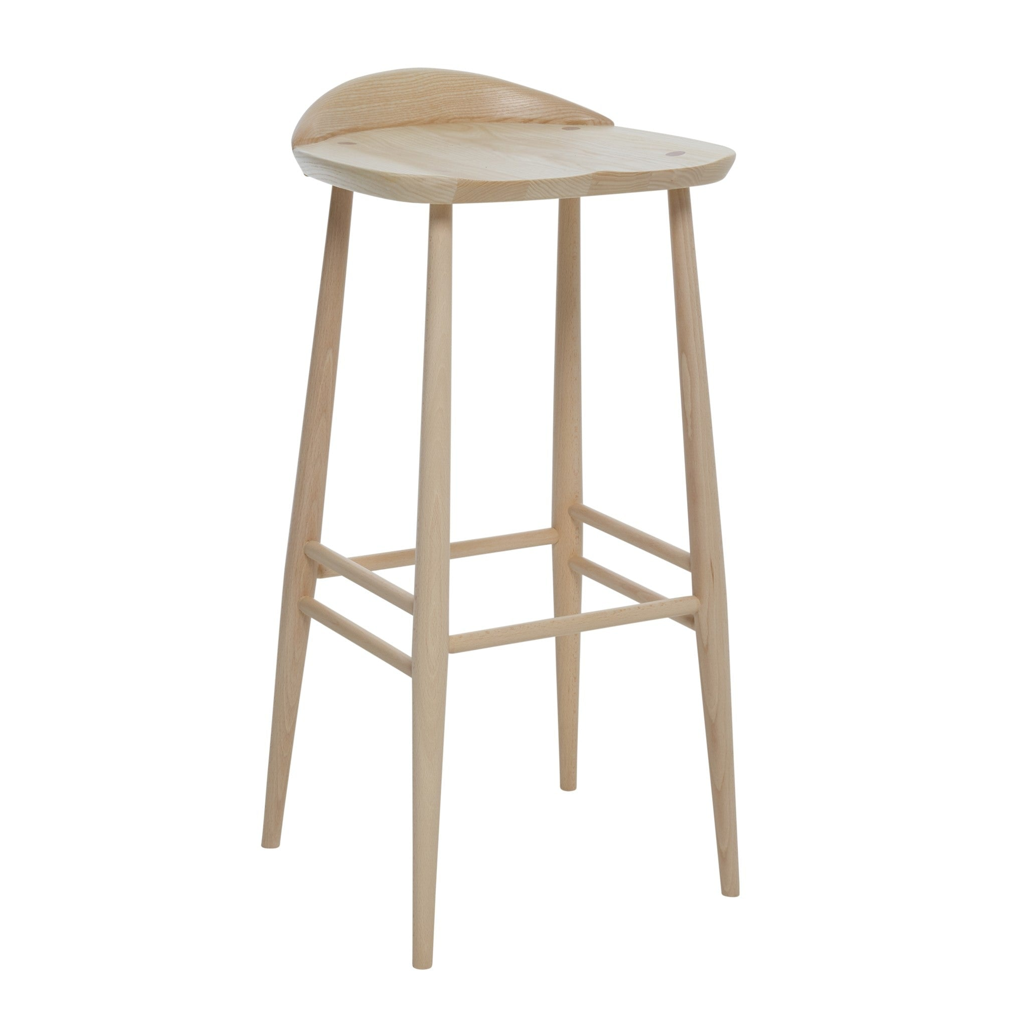 Originals Bar Stool with Back by Ercol