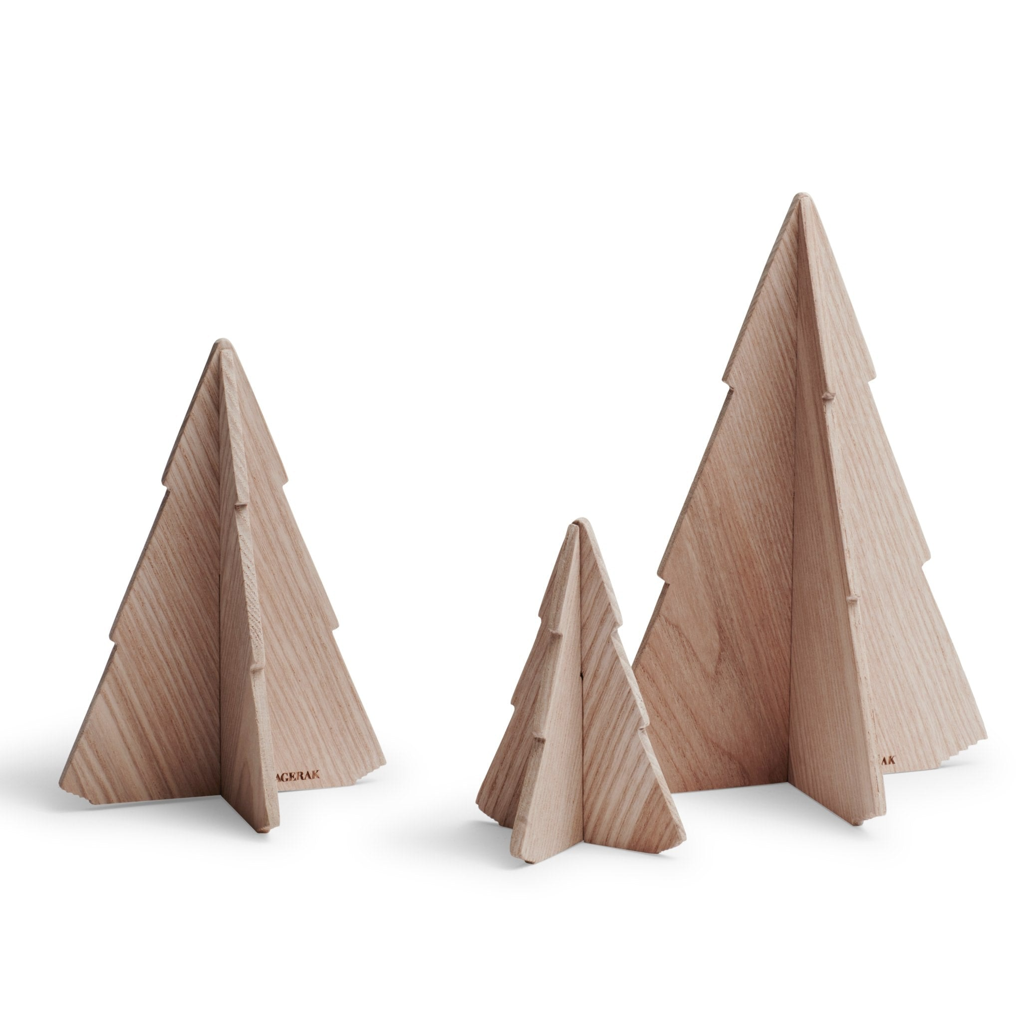 Set of 3 Spruce Trees by Skagerak