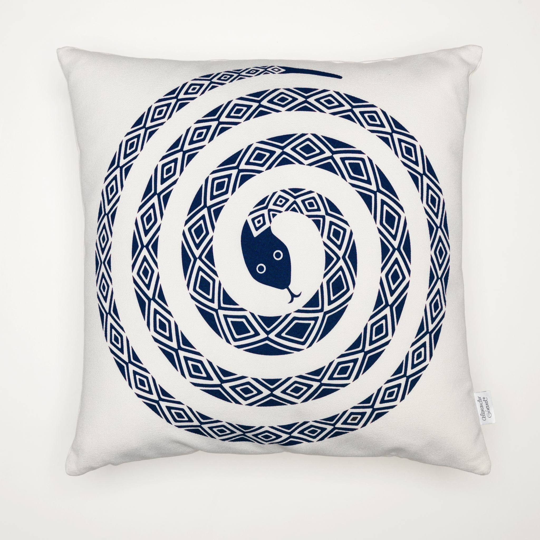 Graphic Print Pillow - Snake by Vitra