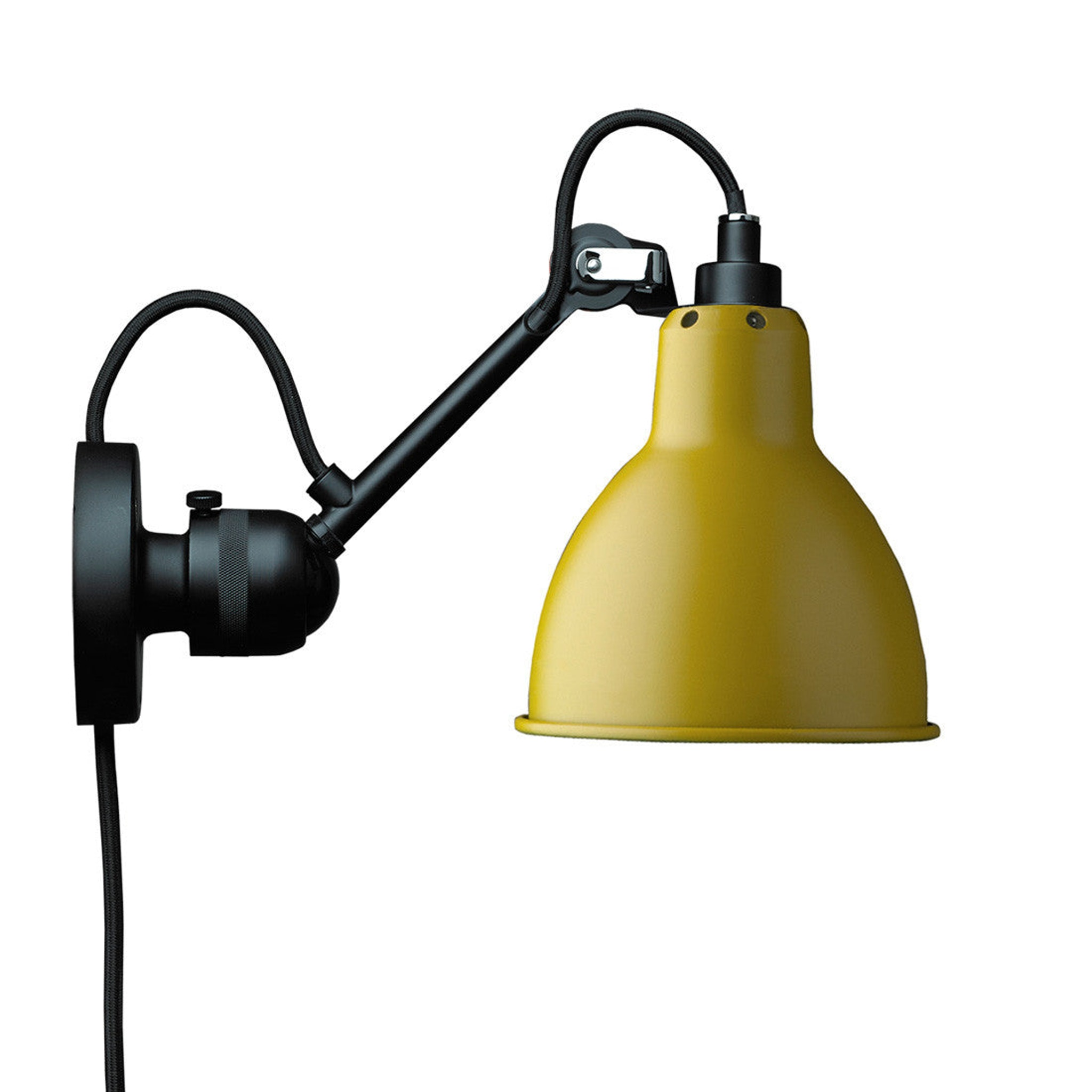 Lampe Gras 304 with switch on cable by Bernard-Albin Gras