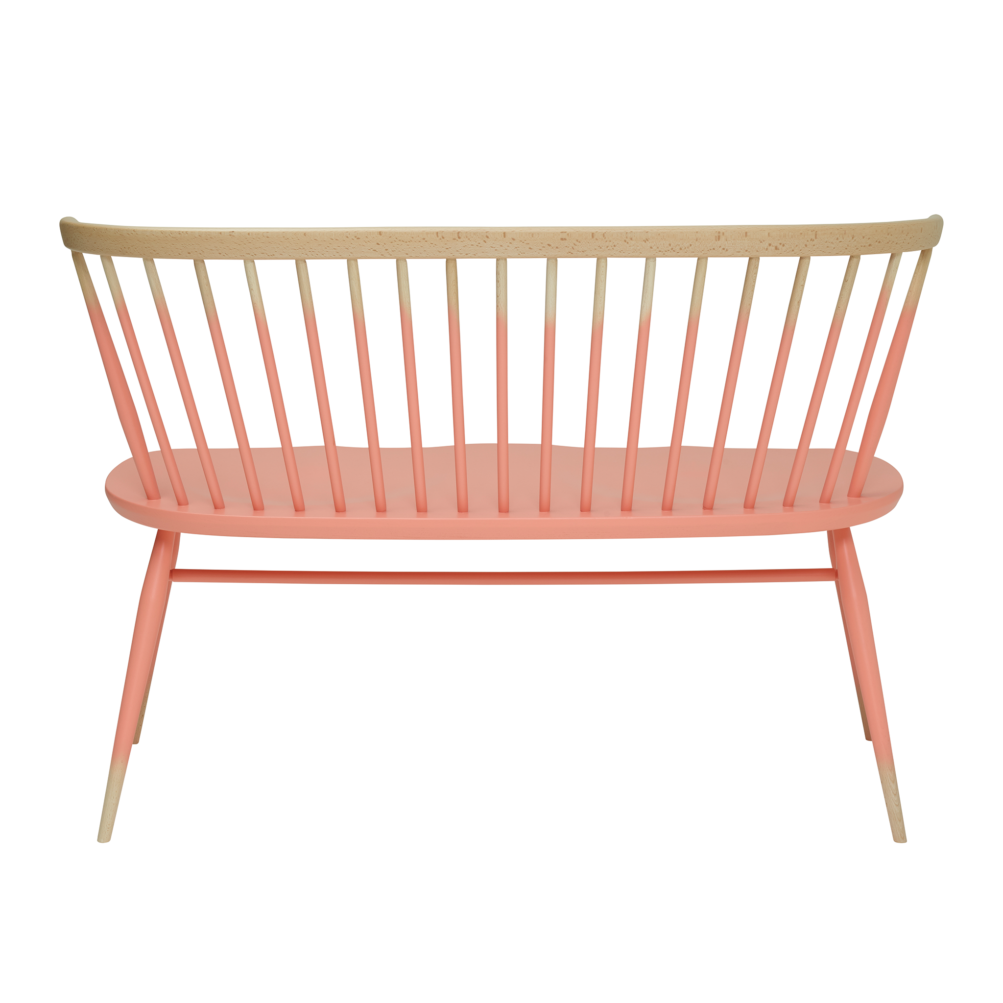 Originals Love Seat Half Painted by Ercol