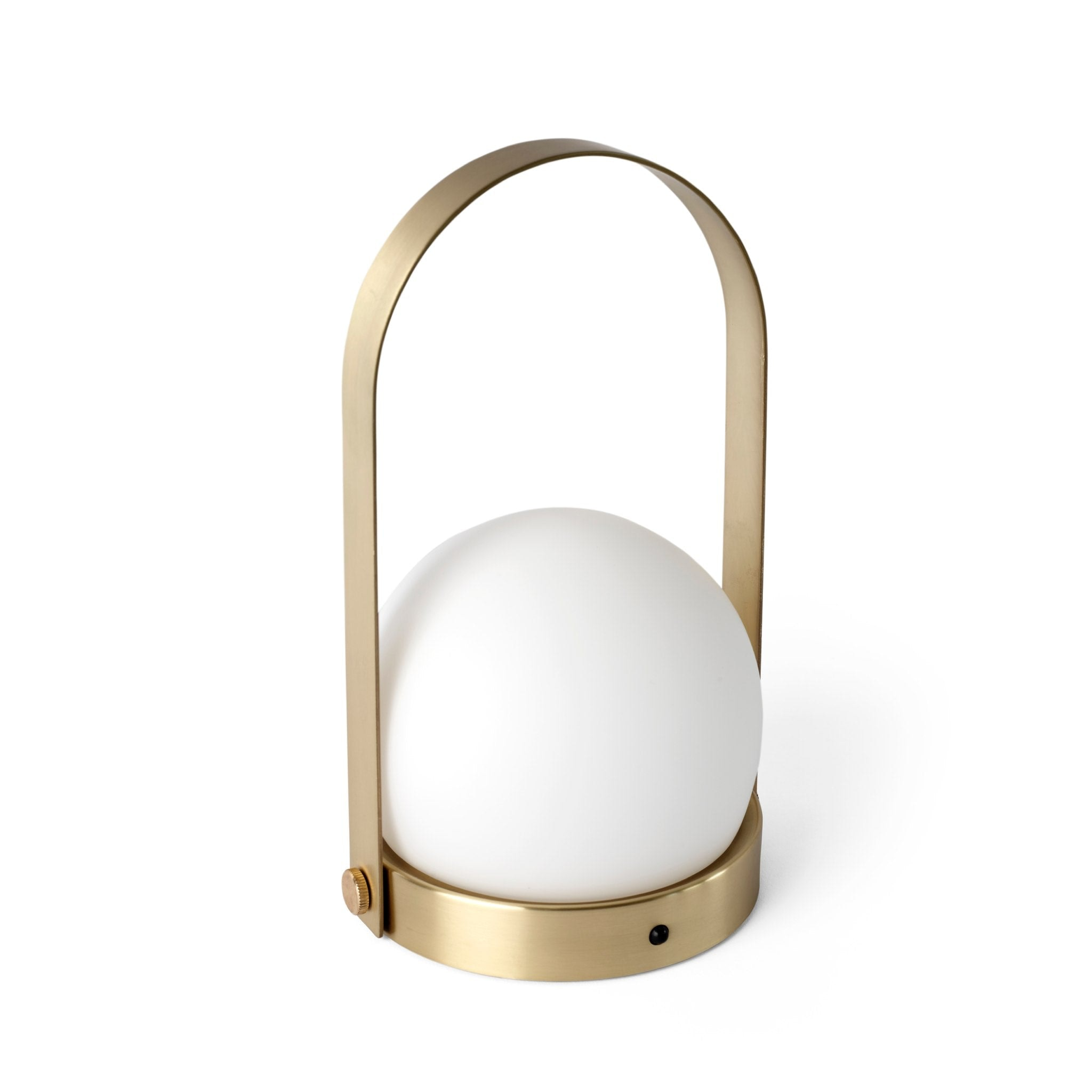 Carrie LED Lamp Brushed Brass by Menu