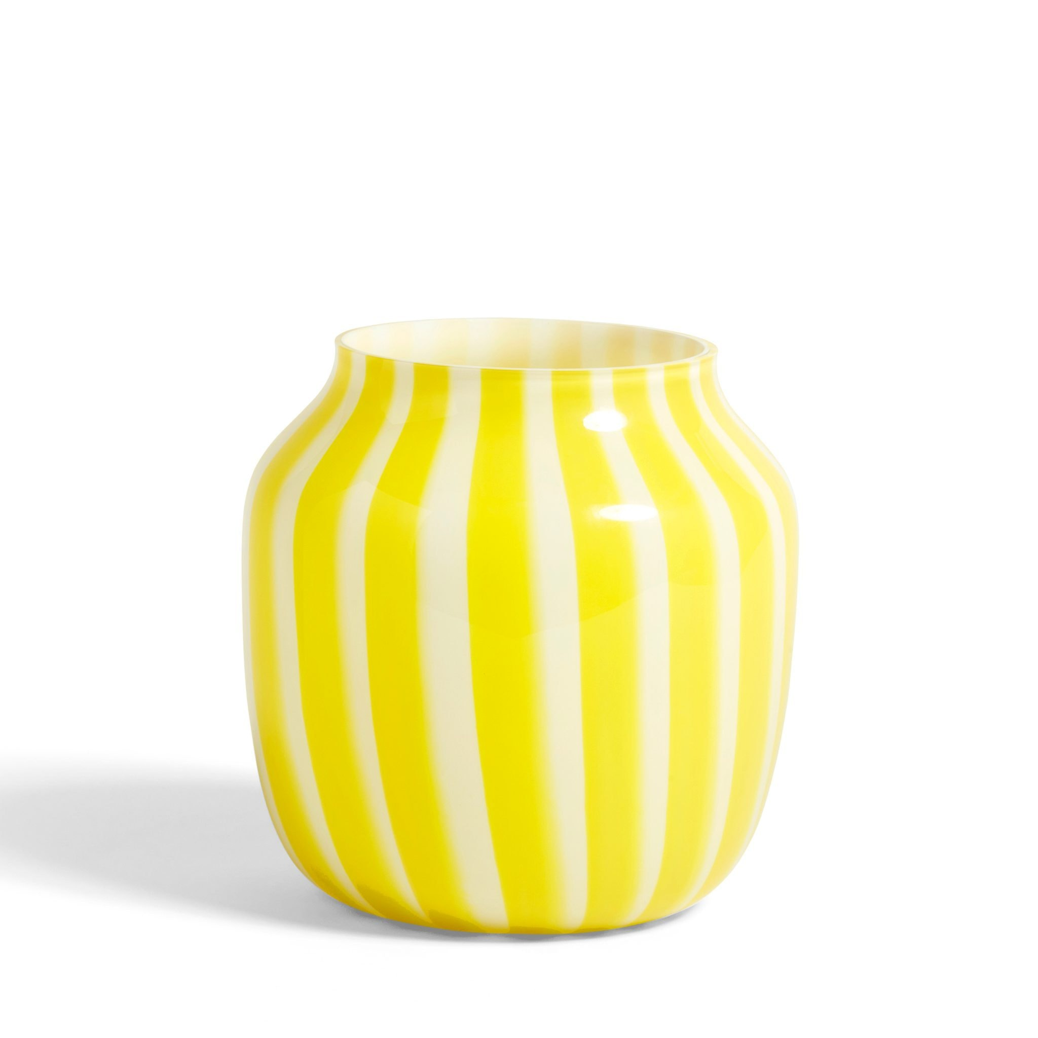 Yellow Juice Vase by Hay