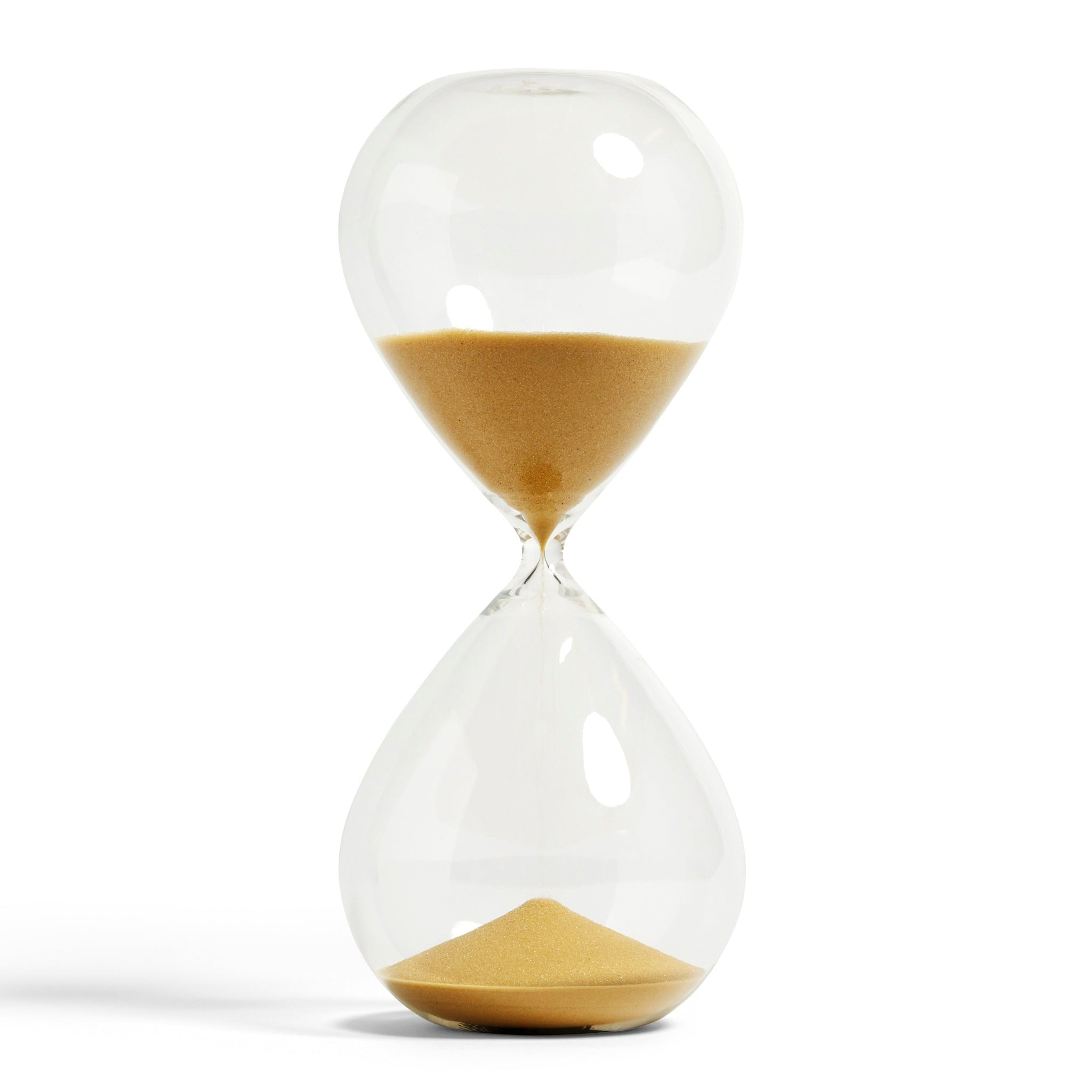 Gold XXXL Time Hourglass by Hay