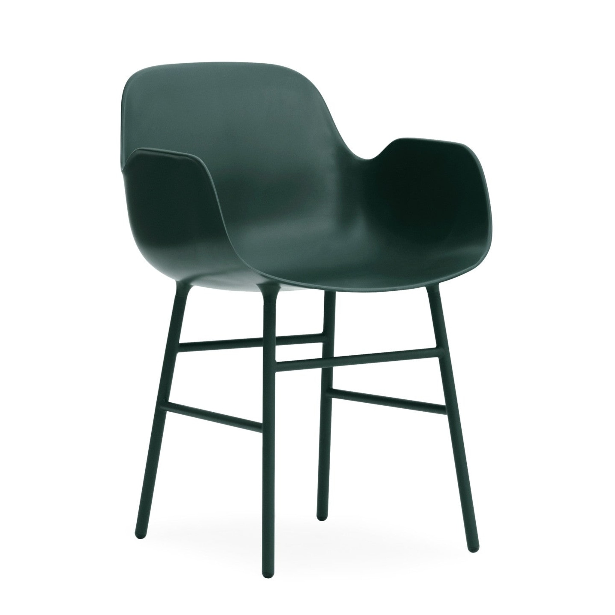 Form Armchair with Steel Base by Simon Legald