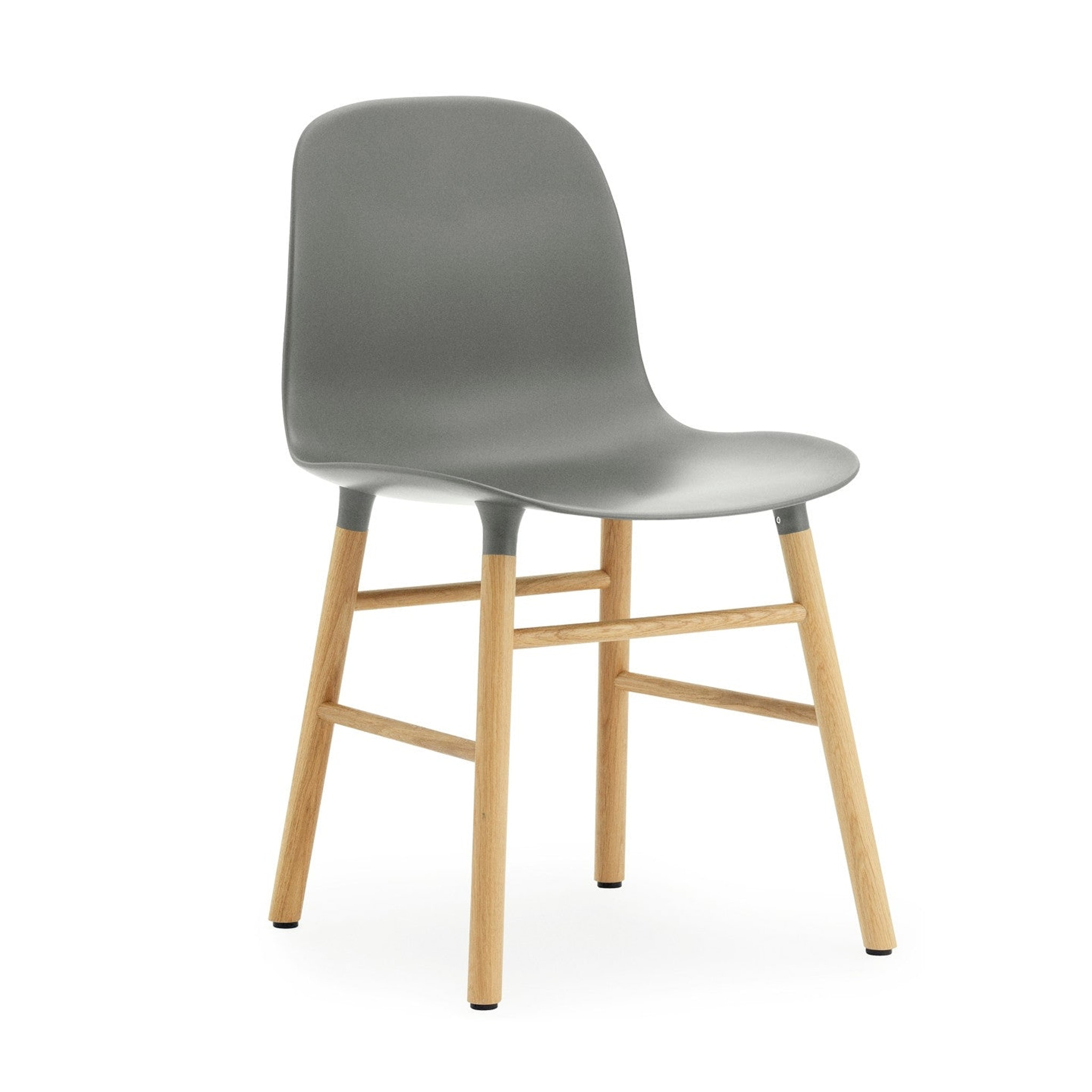 Form Chair with Wooden Base by Simon Legald