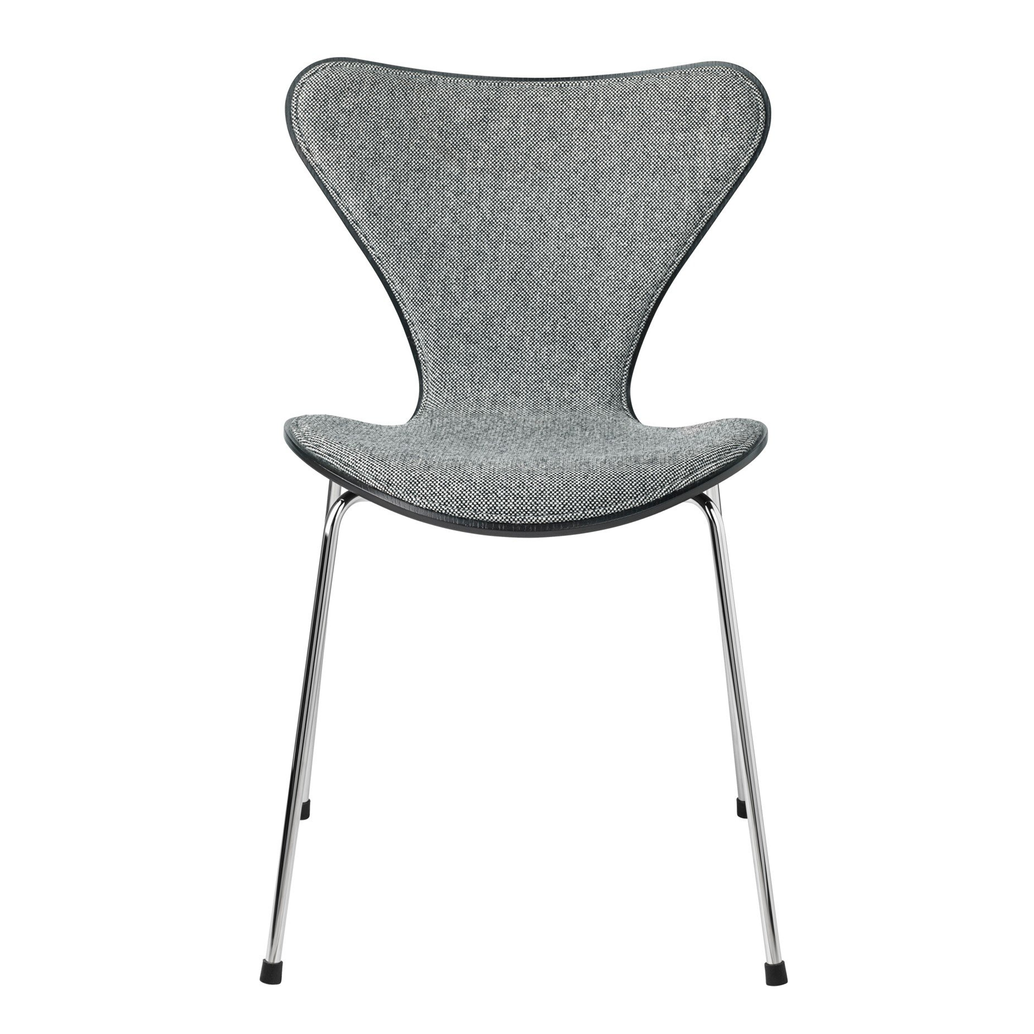 Series 7 Front Upholstered Chair Fabric by Fritz Hansen