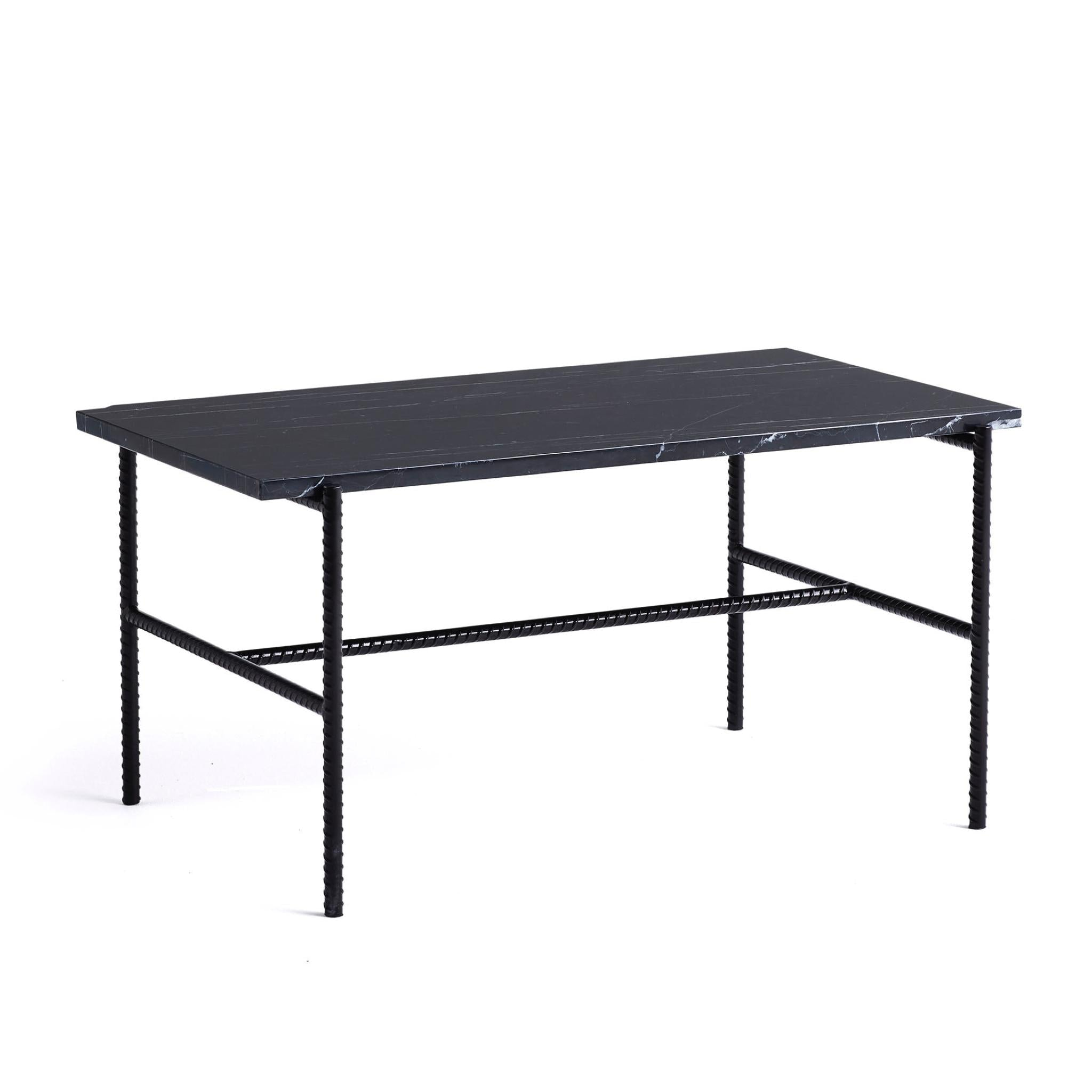 Rebar Coffee Table Rectangular by Hay