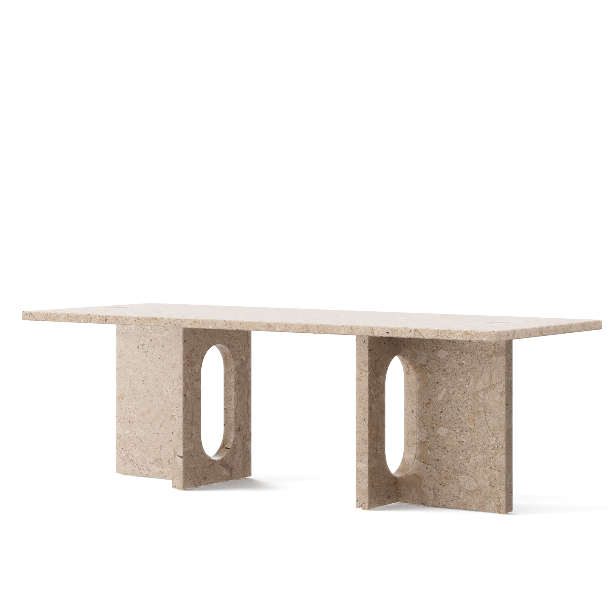 Androgyne Lounge Table, Stone by Menu
