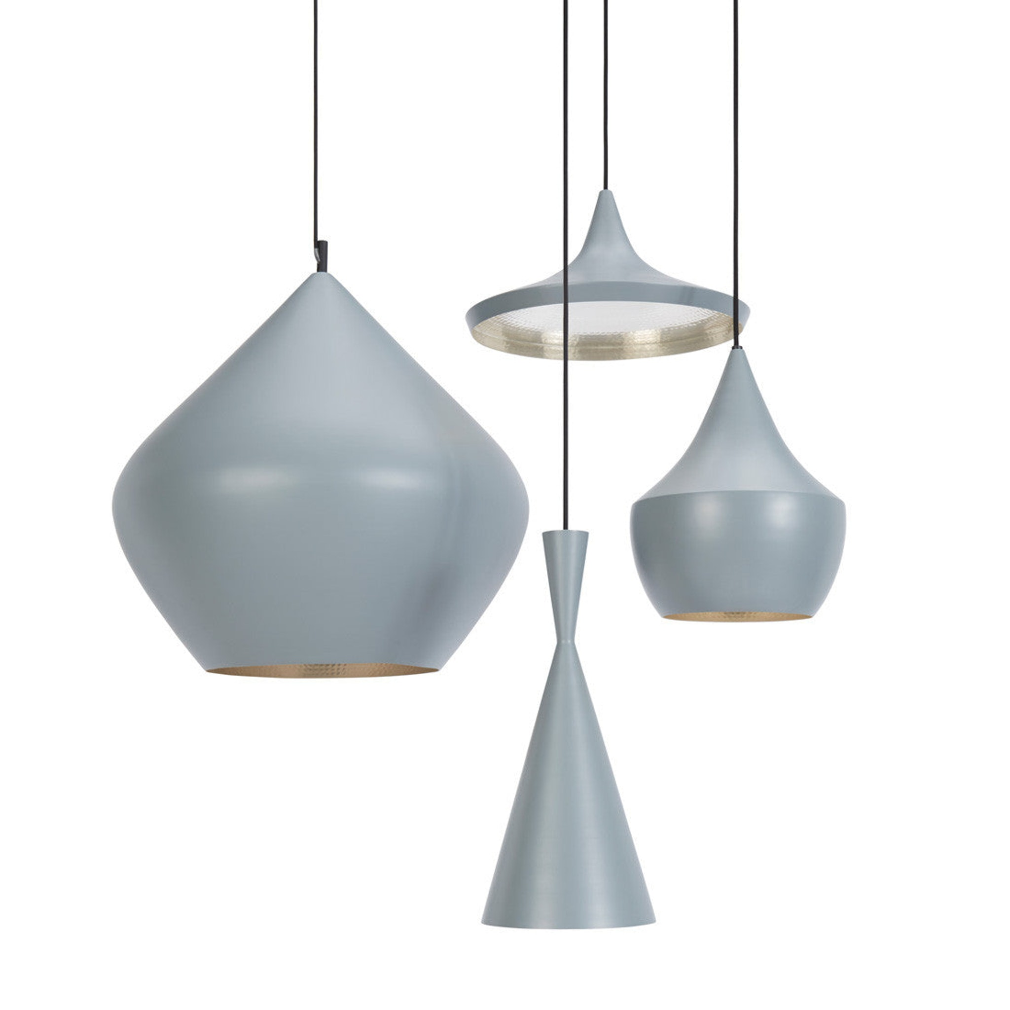 Beat Light Grey by Tom Dixon