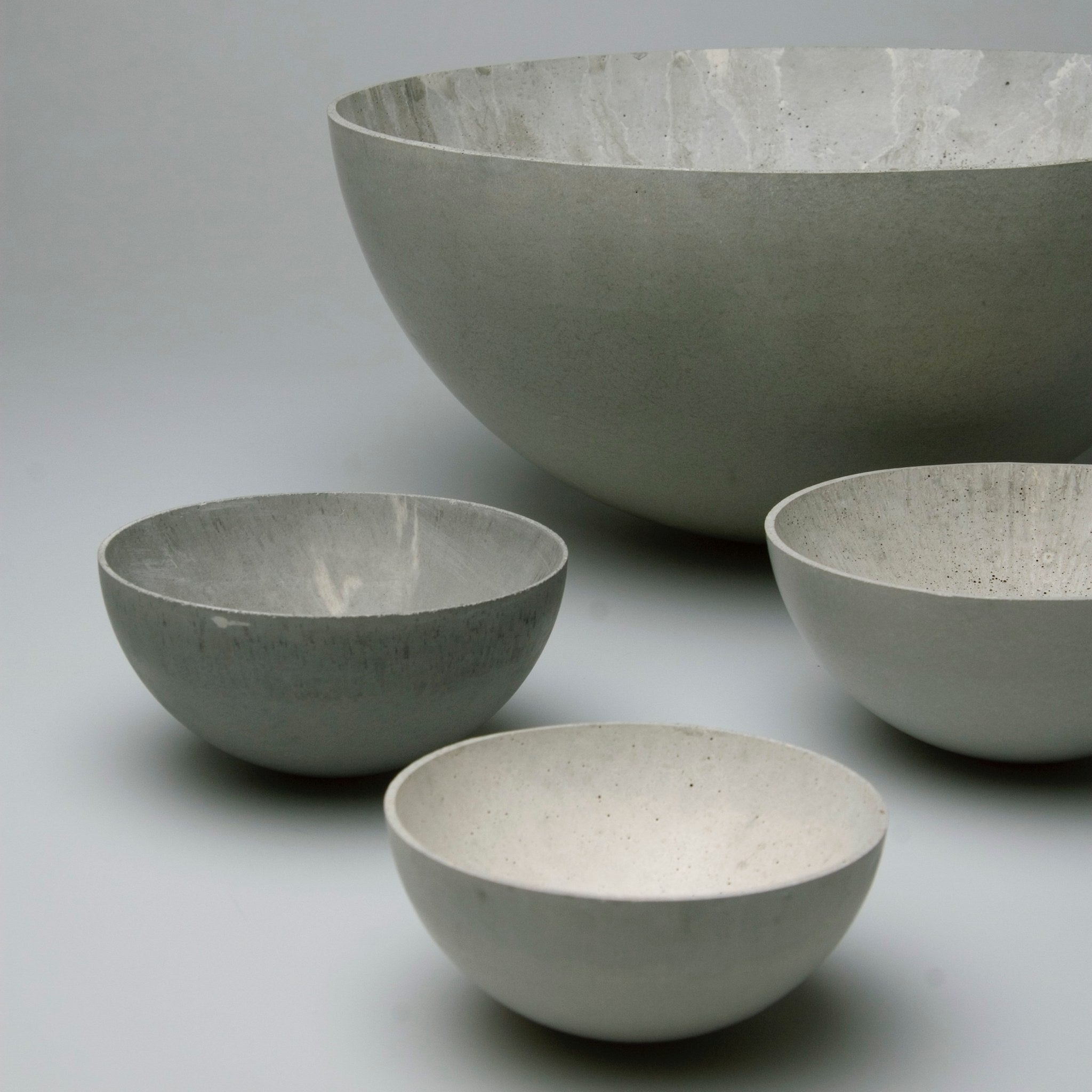 Concrete Bowls by Stephan Schulz