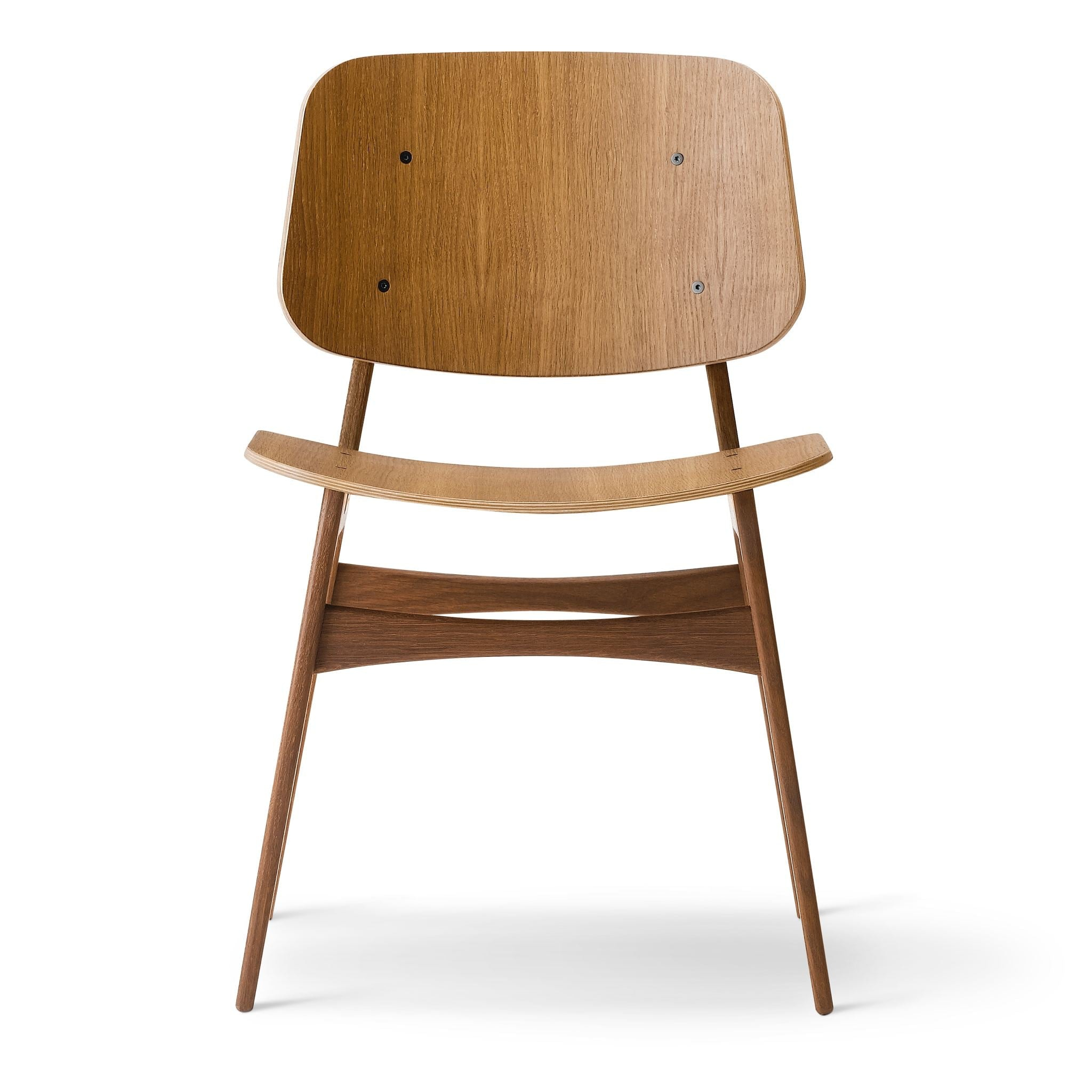 Søborg Chair Wooden Frame by Fredericia
