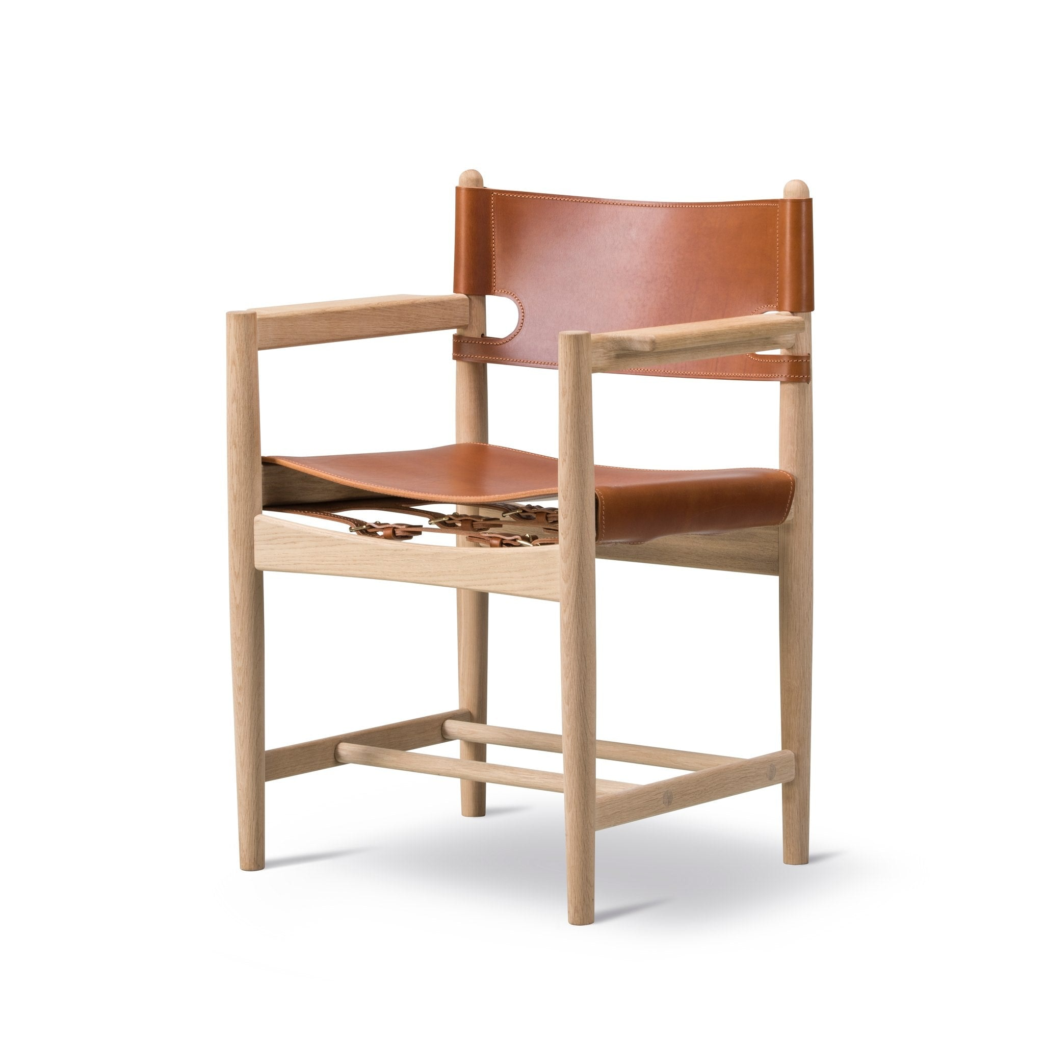 Spanish Dining Chair With Arms by Fredericia
