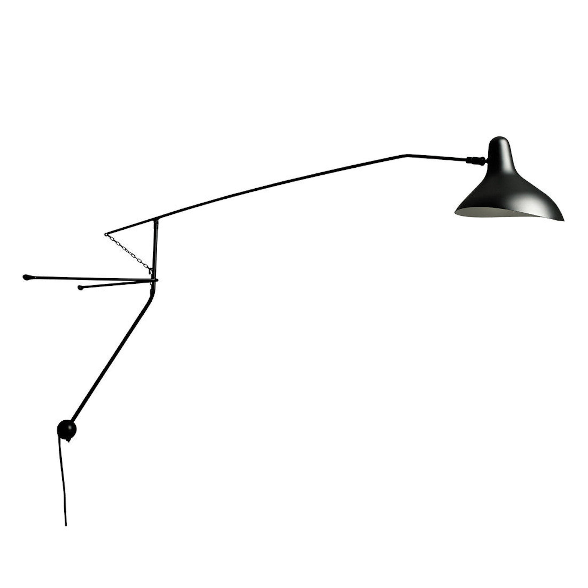 Mantis BS2 Wall Lamp by Bernard Schottlander