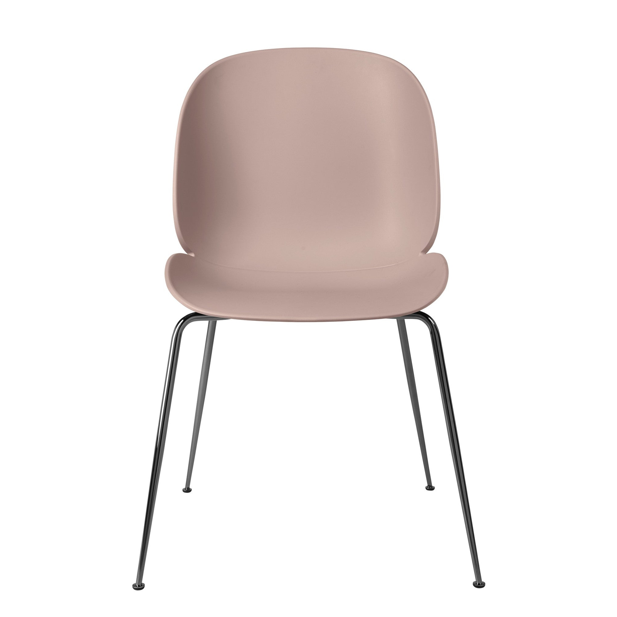 Beetle Dining Chair unupholstered by GamFratesi
