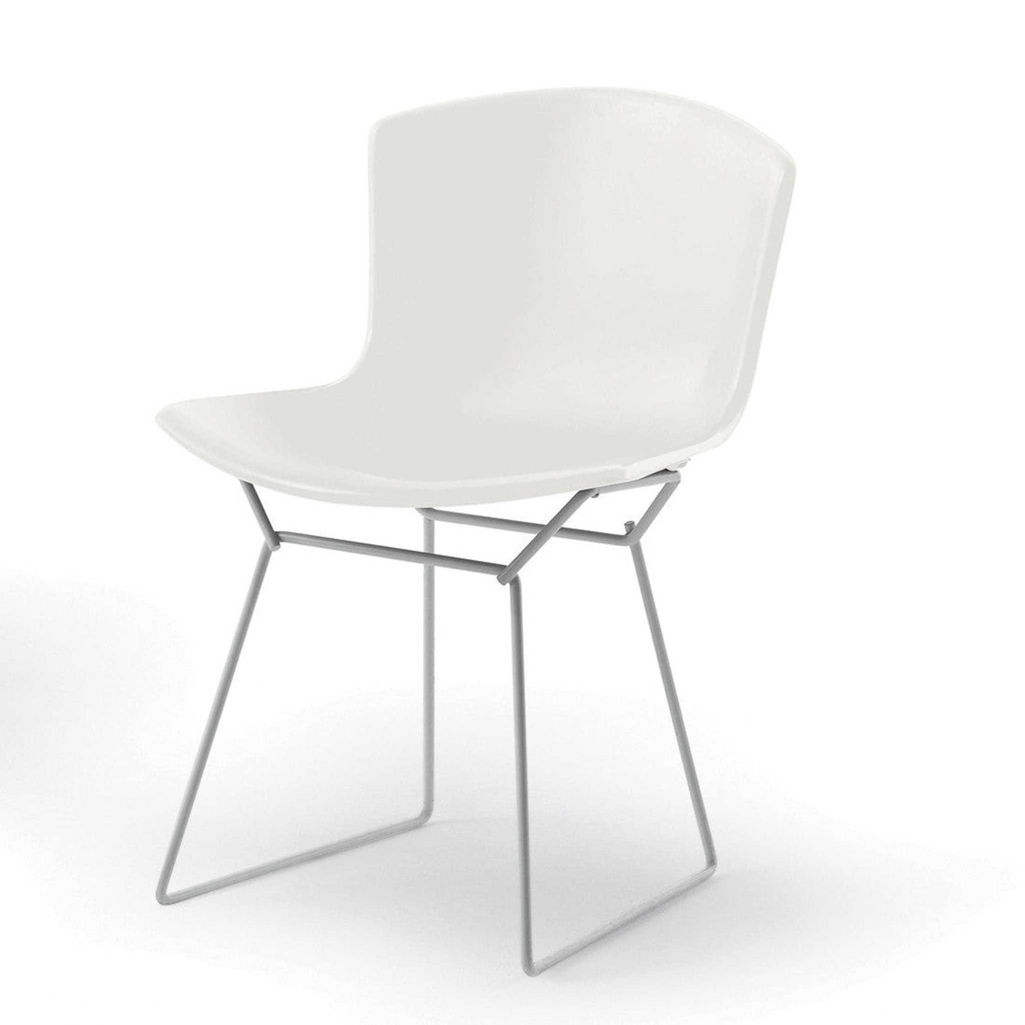 Knoll Bertoia Plastic Side Chair by Knoll