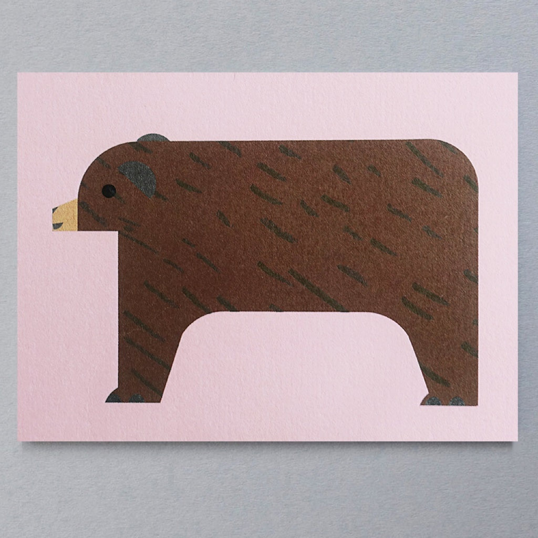 Brown Bear Mini Card by Scout Editions