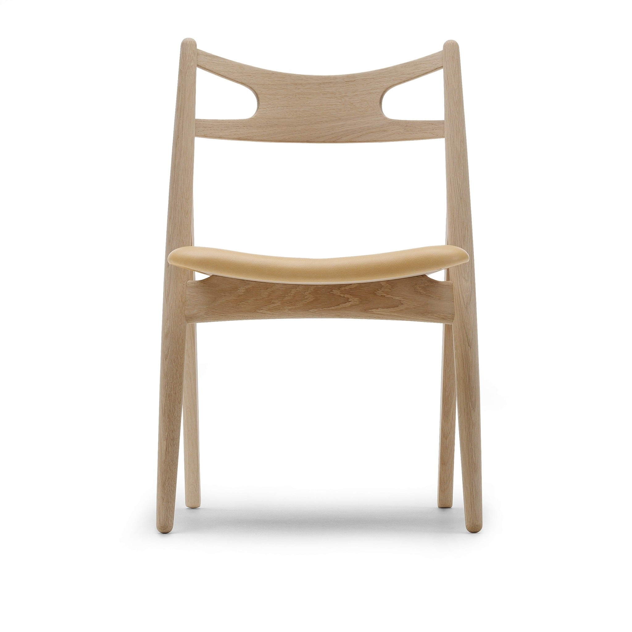 CH29P Sawbuck Chair Upholstered by Carl Hansen & Søn