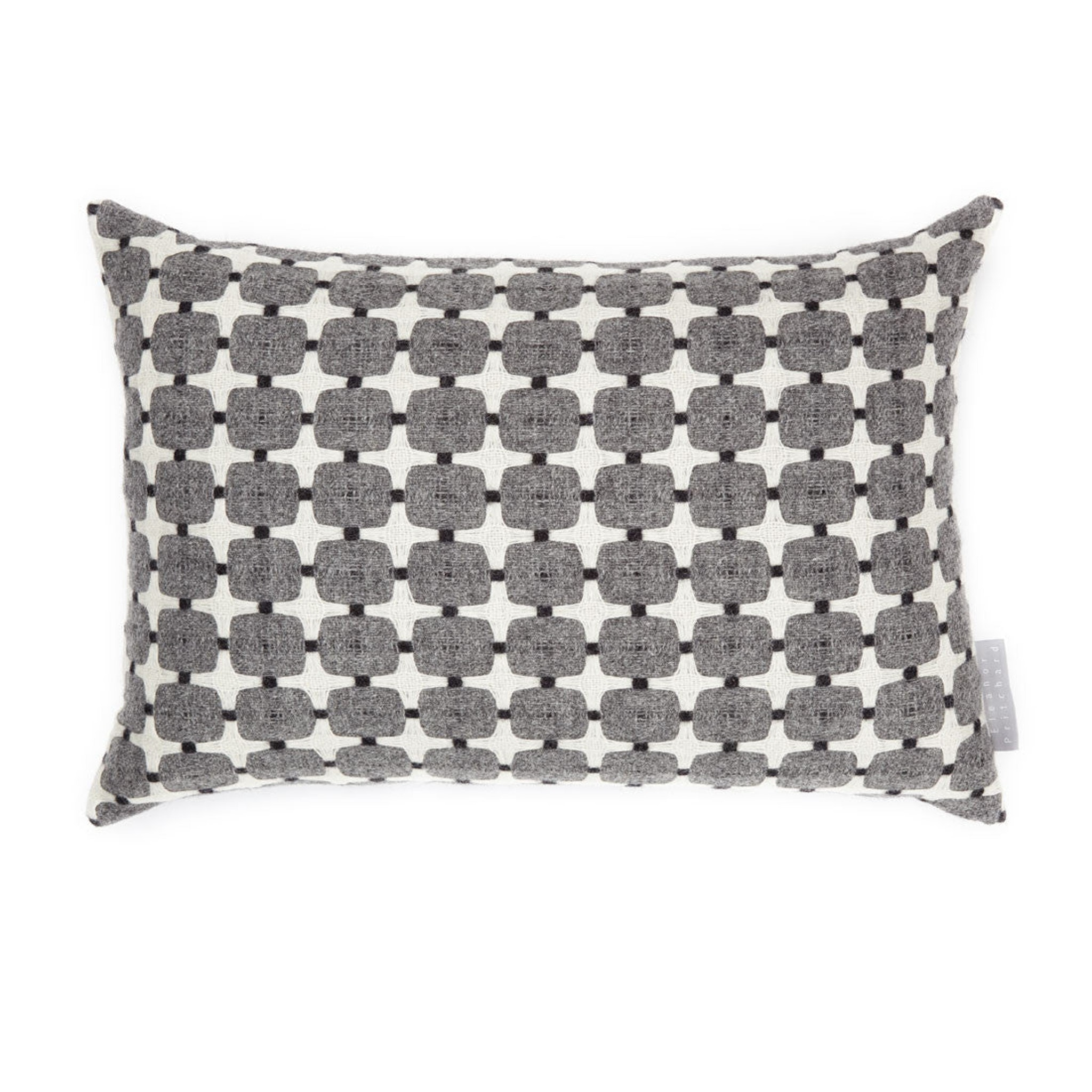 405 Line cushion by Eleanor Pritchard