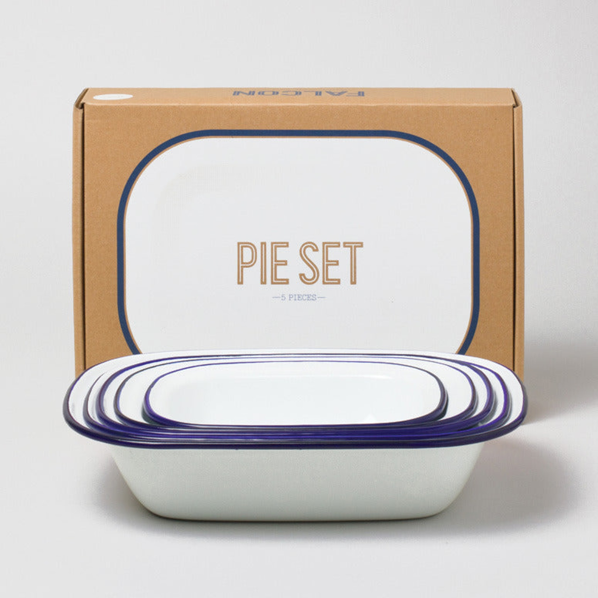 Pie Set by Falcon Enamelware