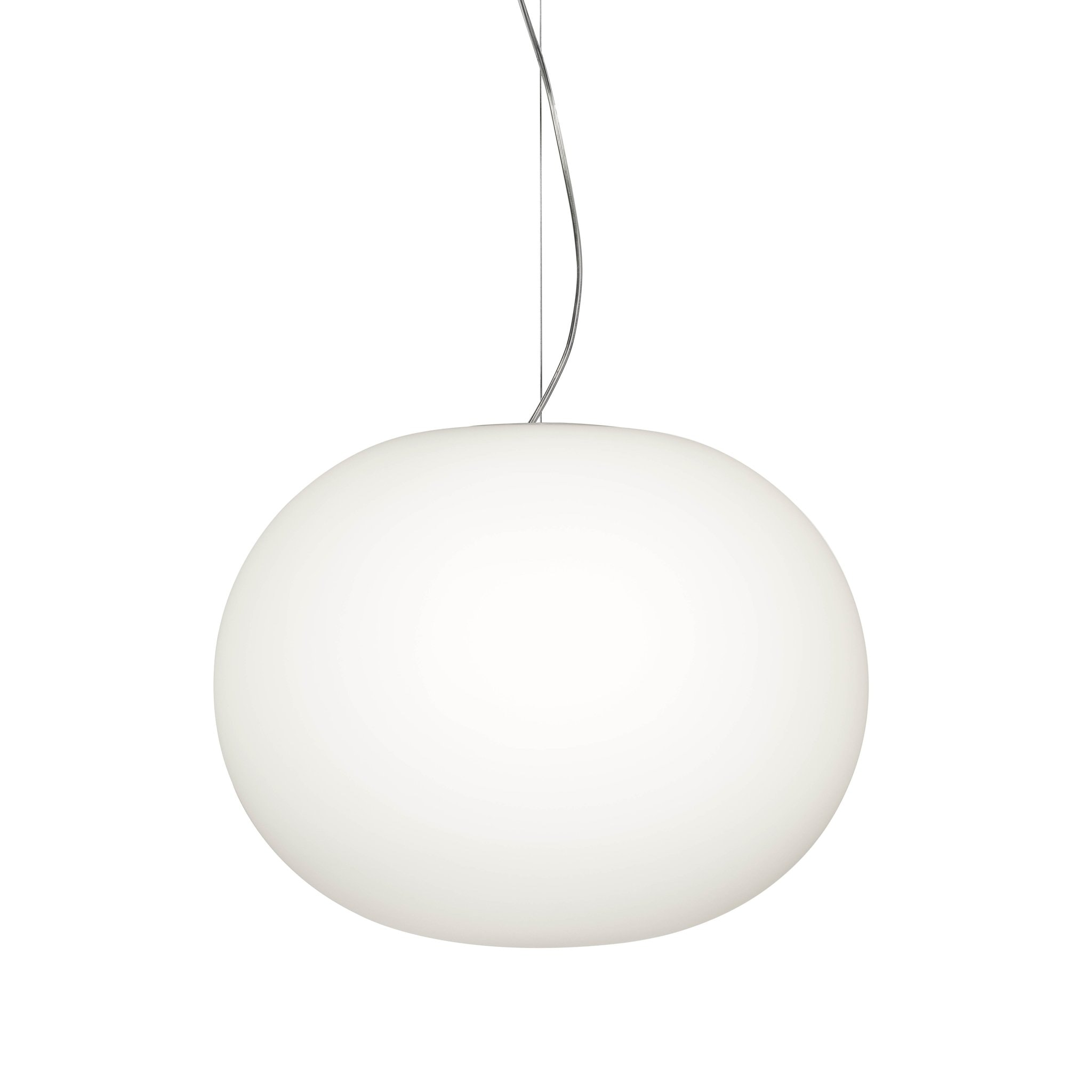 Glo Ball Pendant S2 by Flos
