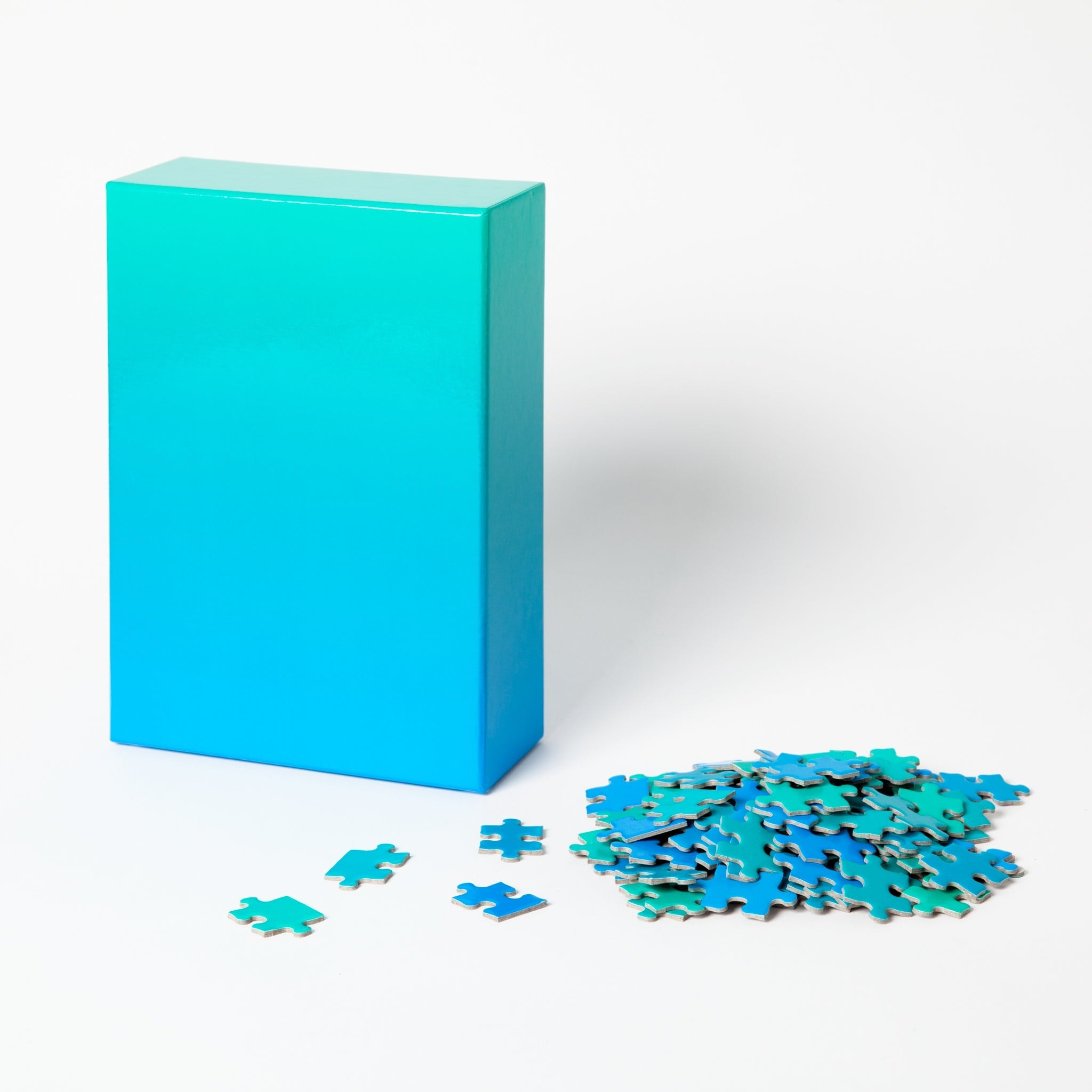 Blue and Green Gradient Puzzle by Areaware