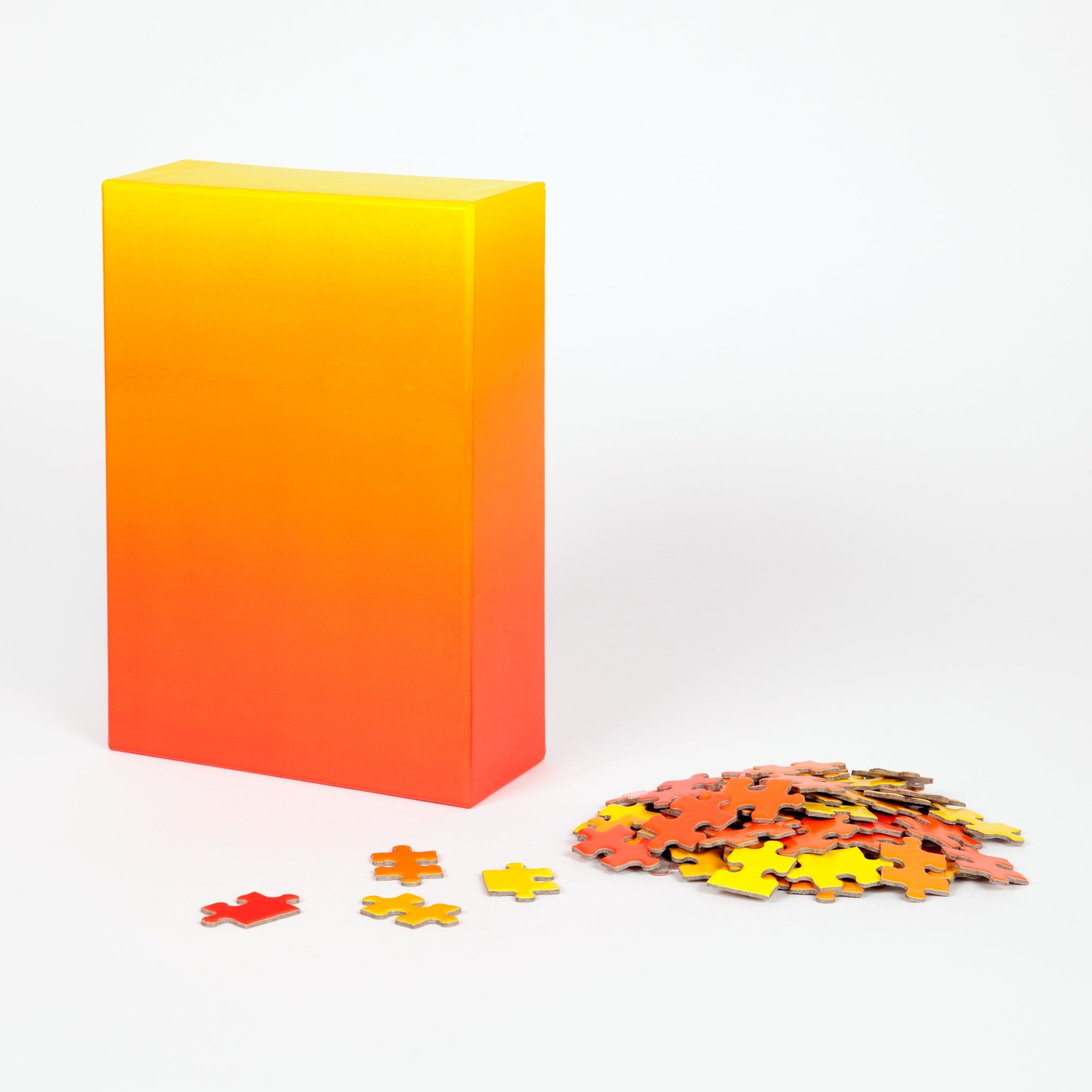 Red and Yellow Gradient Puzzle by Bryce Wilner for Areaware