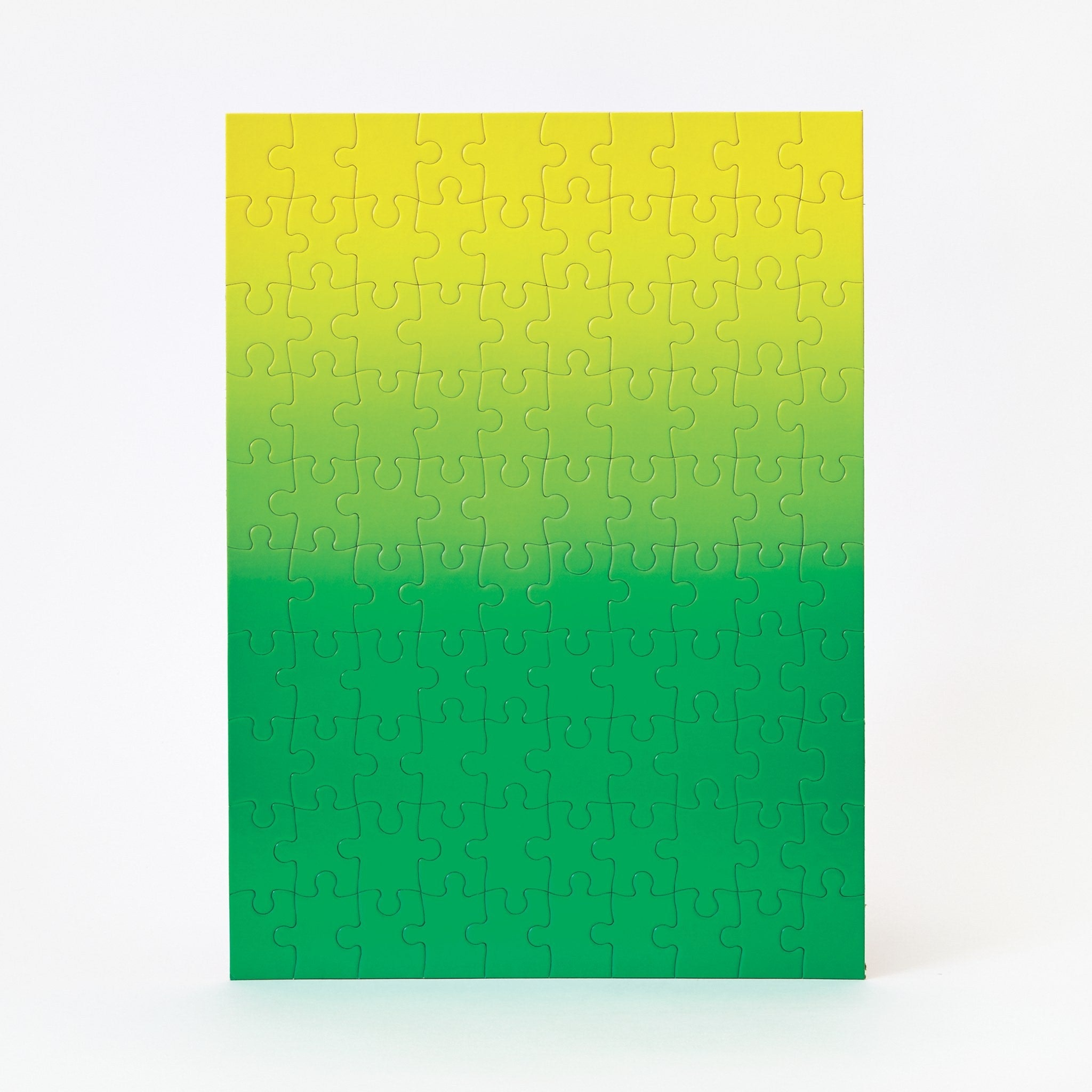 Green and Yellow Gradient Puzzle by Areaware