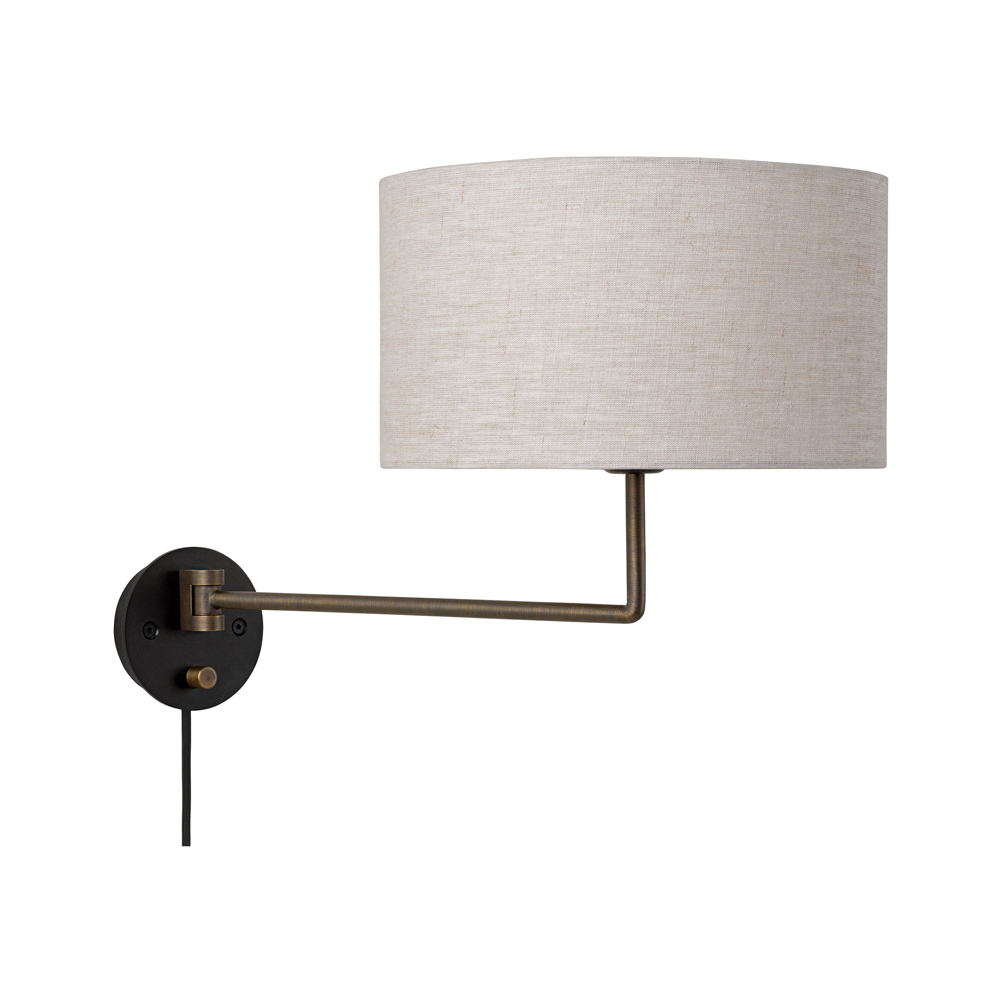 Gravity Bedside Wall Lamp Large by Gubi