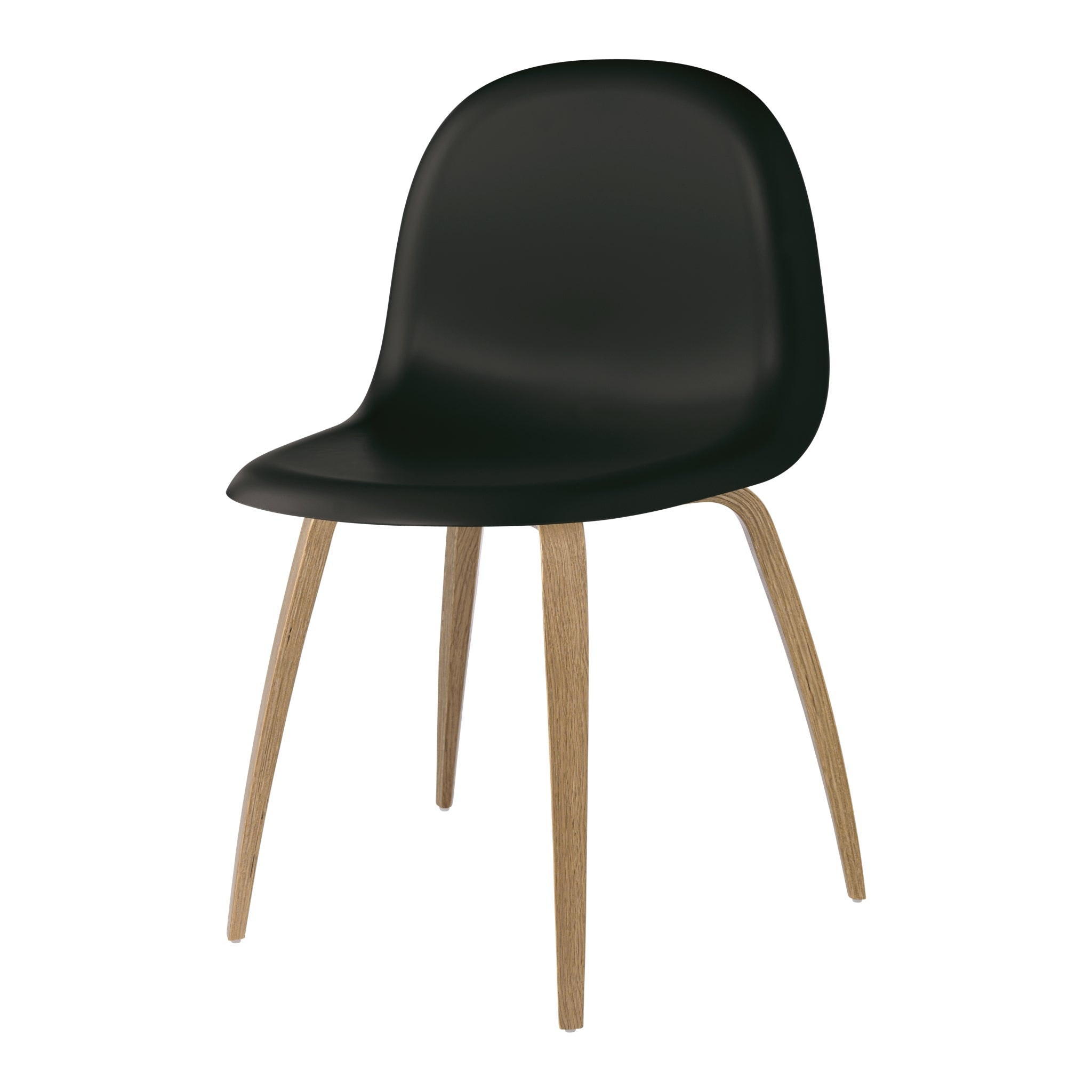 Gubi 3D Wood Base Chair by Gubi