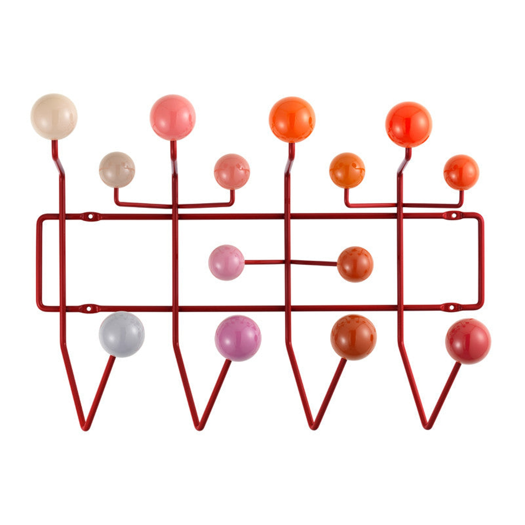 Hang it All Red by Charles and Ray Eames