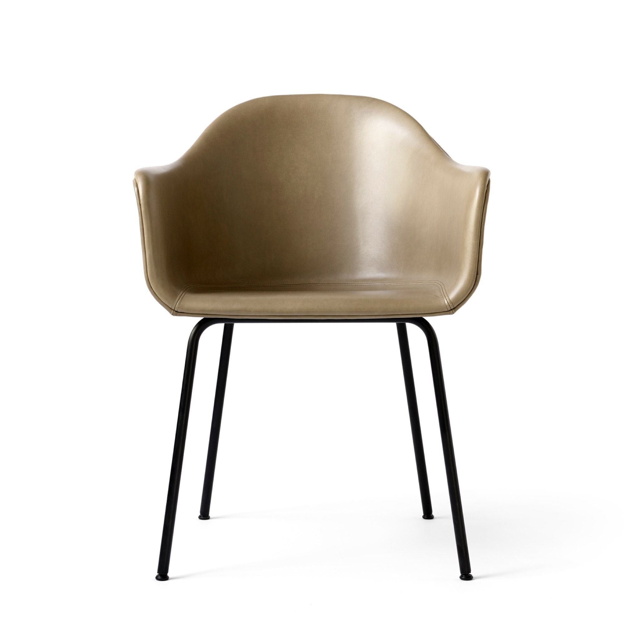 Harbour Chair Upholstered with Steel Base by Menu