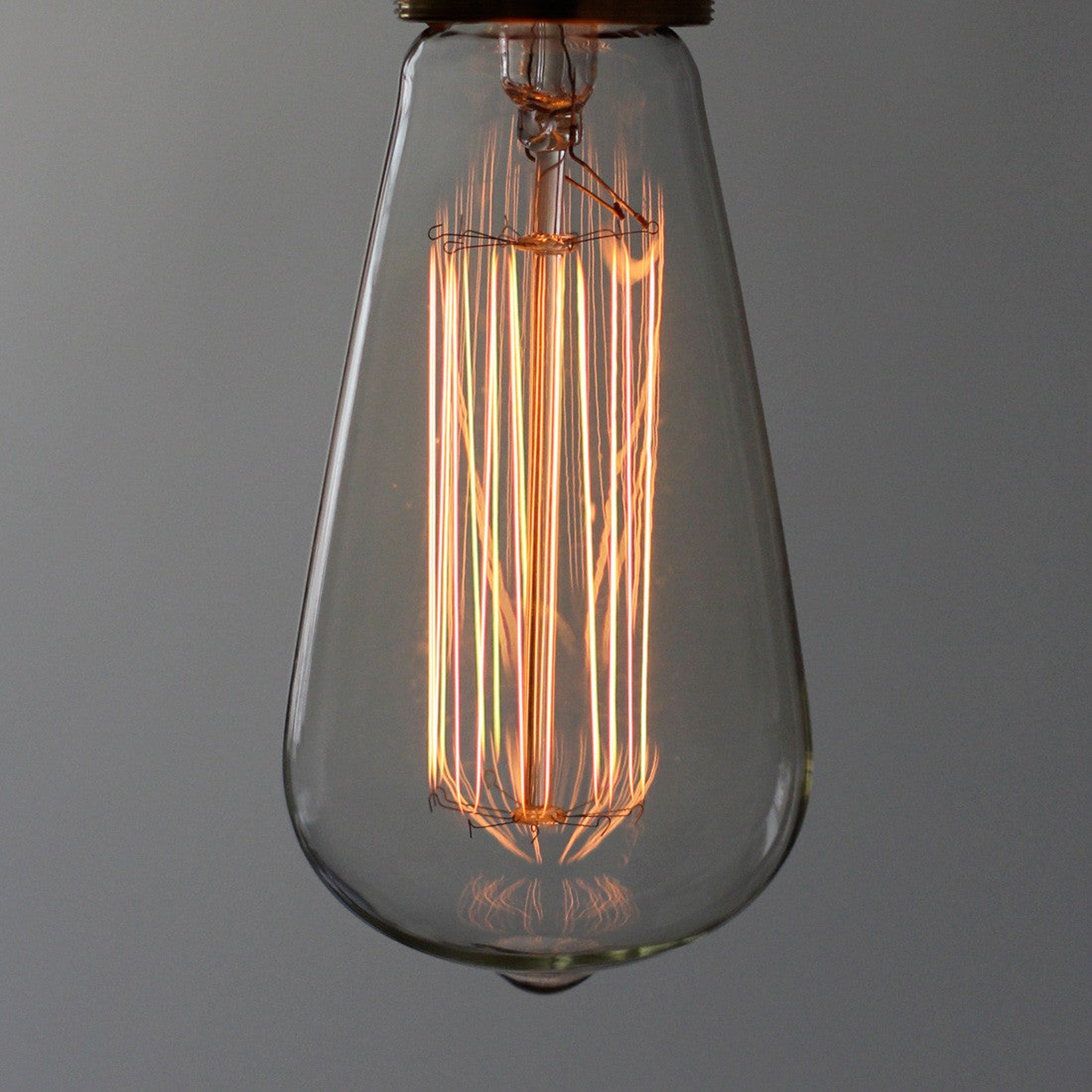 Squirrel Cage Carbon Filament Lamp by Mimime