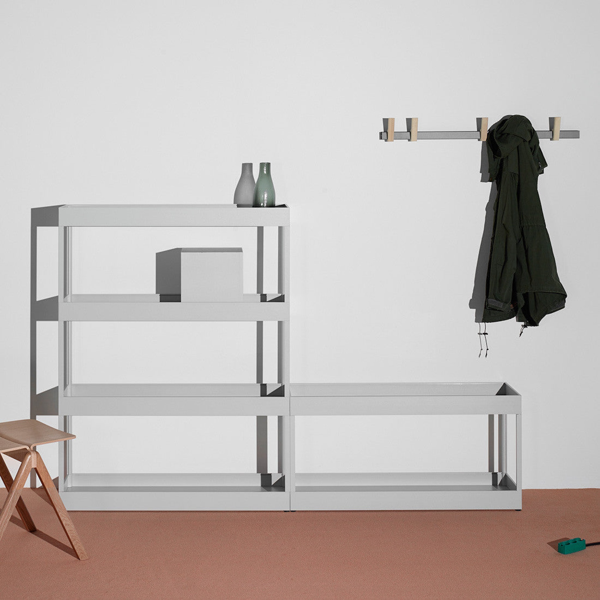 New Order Shelving System - Uprights - by HAY
