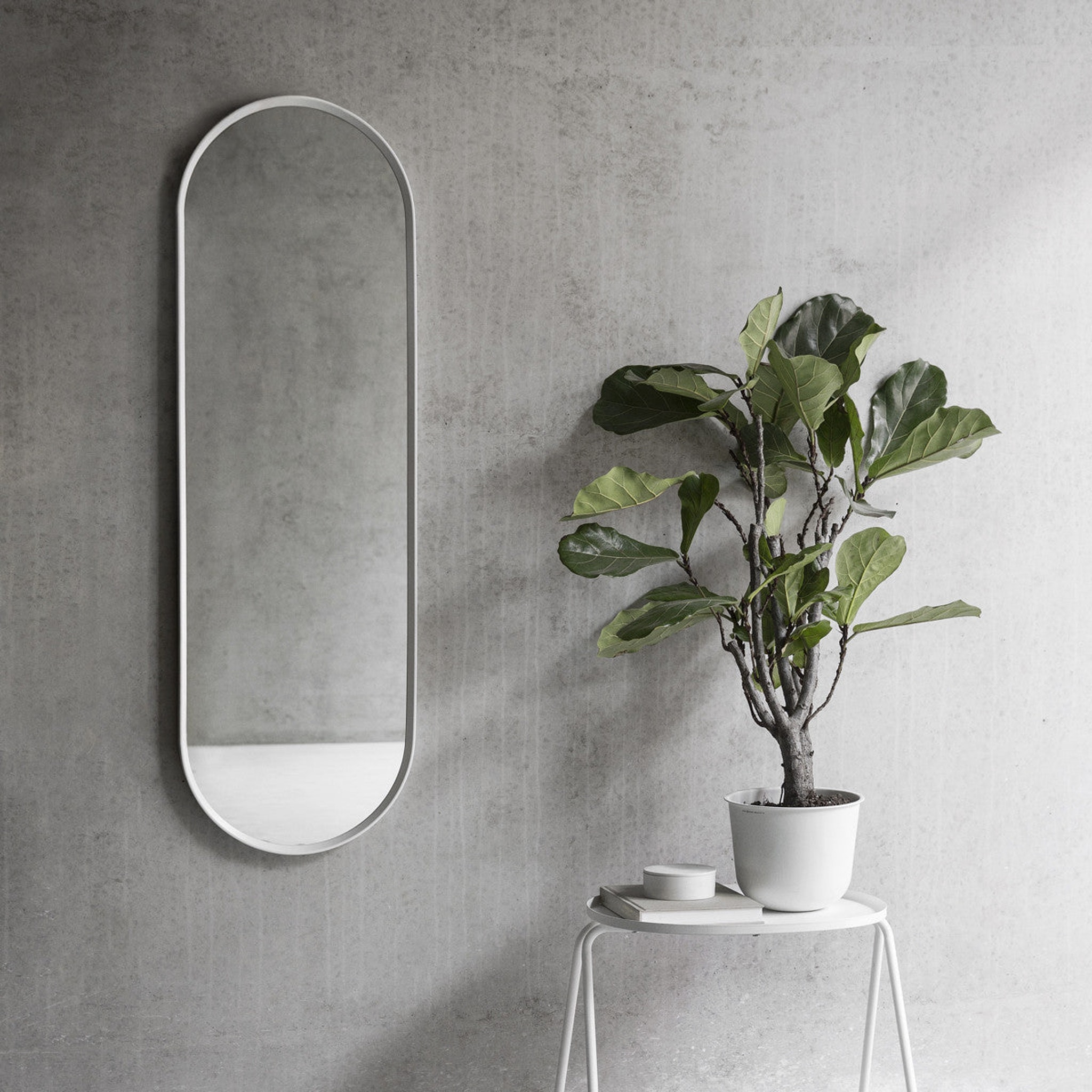 Norm Oval Wall mirror by Norm Architects