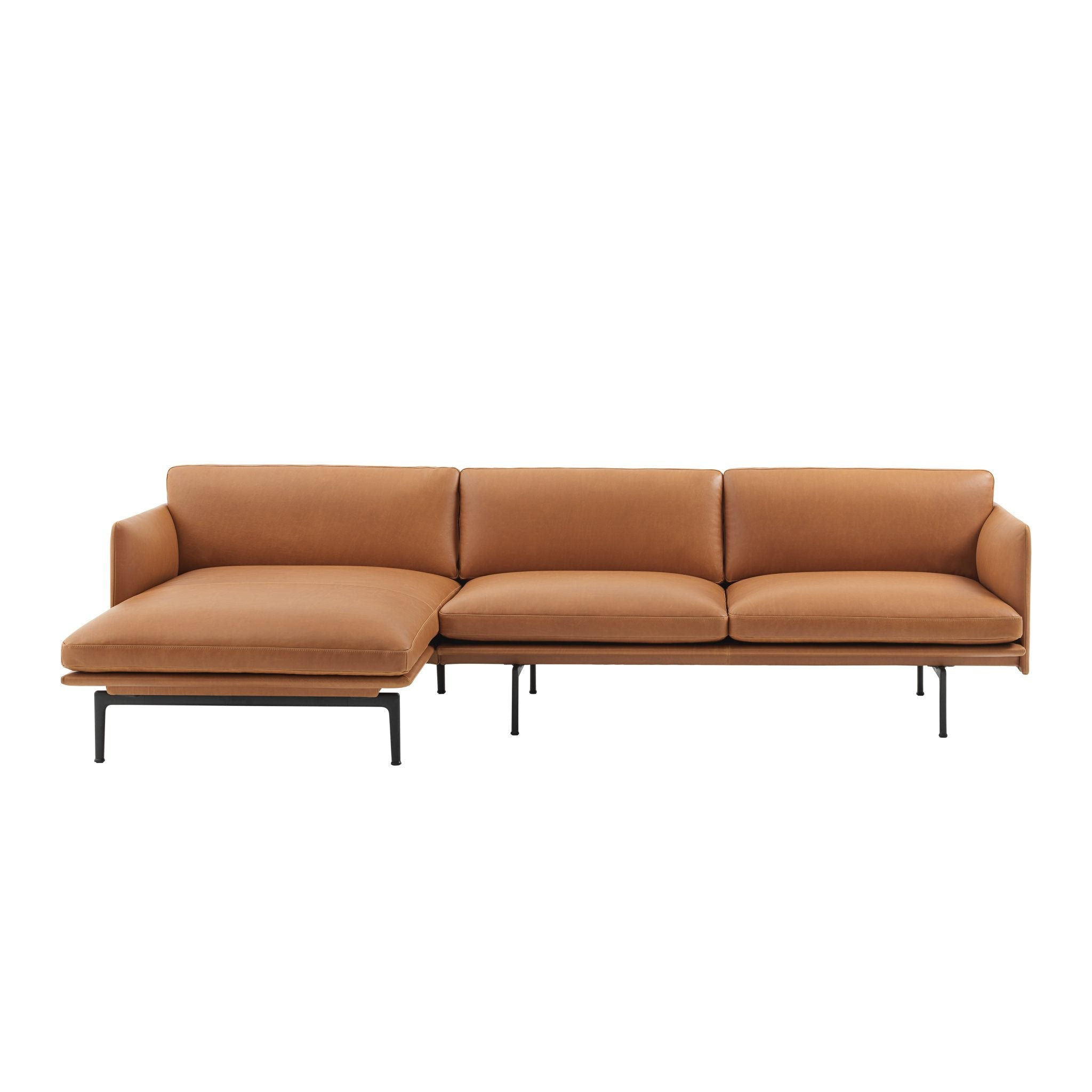 Outline Sofa/Chaise Longue by Muuto