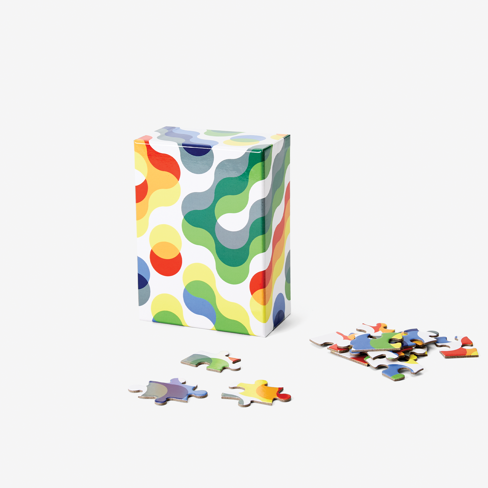 Arc Pattern Puzzle, Small by Dusen Dusen for Areaware