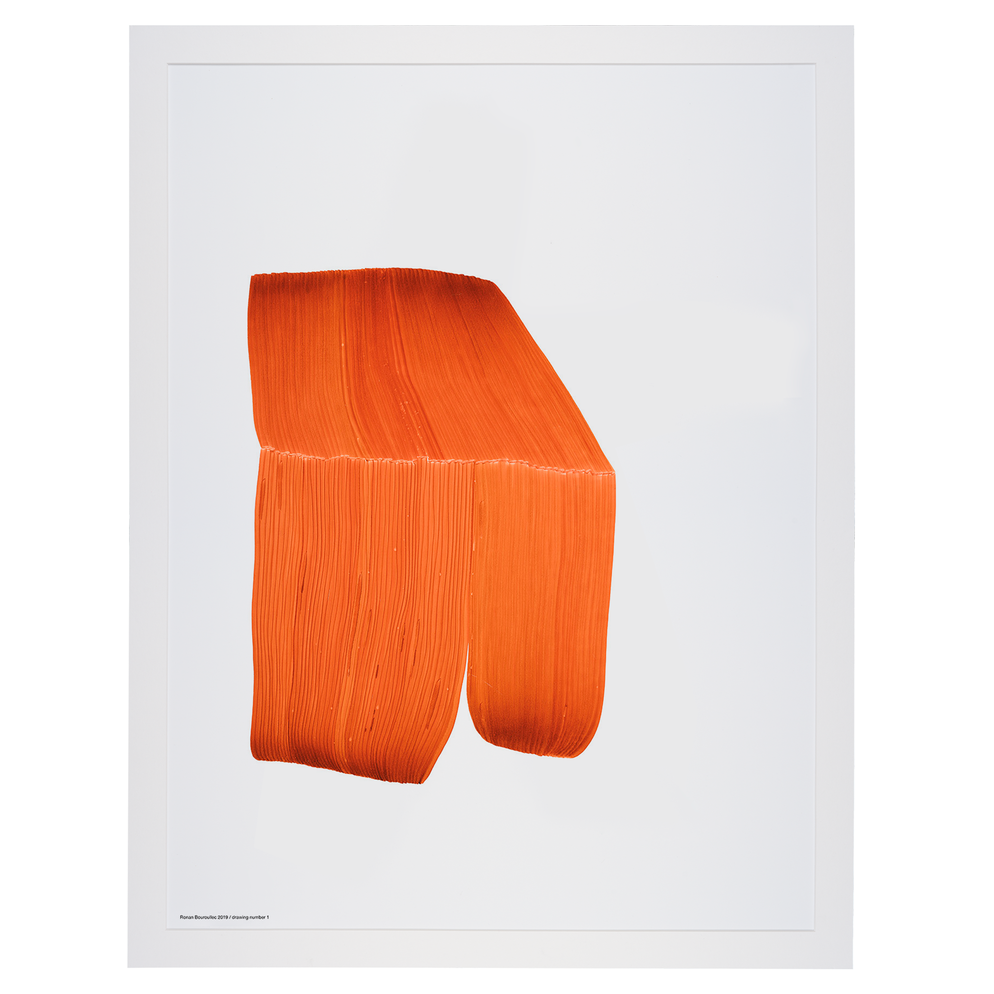 Bouroullec Drawing 1 / Orange by The Wrong Shop