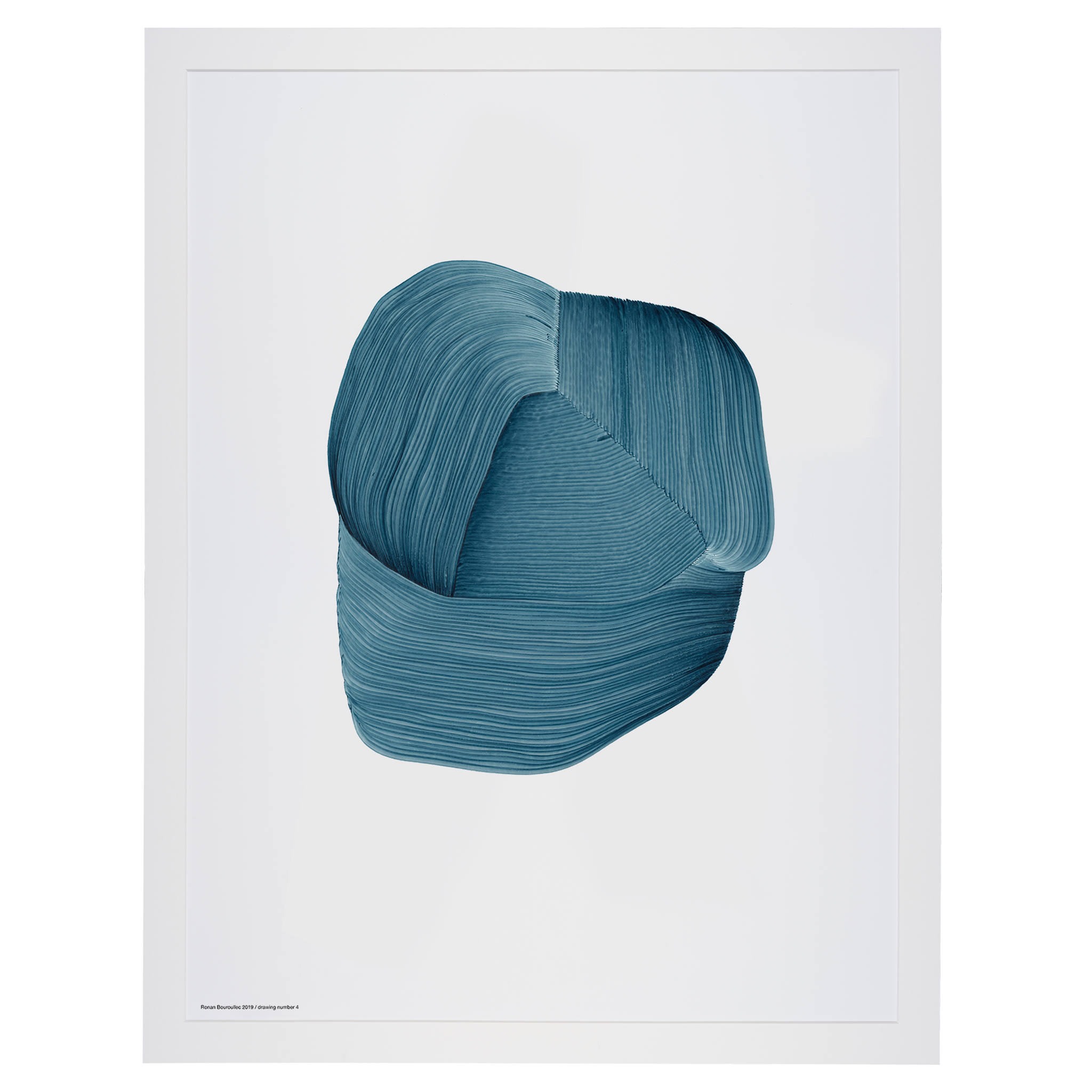 Bouroullec Drawing 3 / Blue by The Wrong Shop