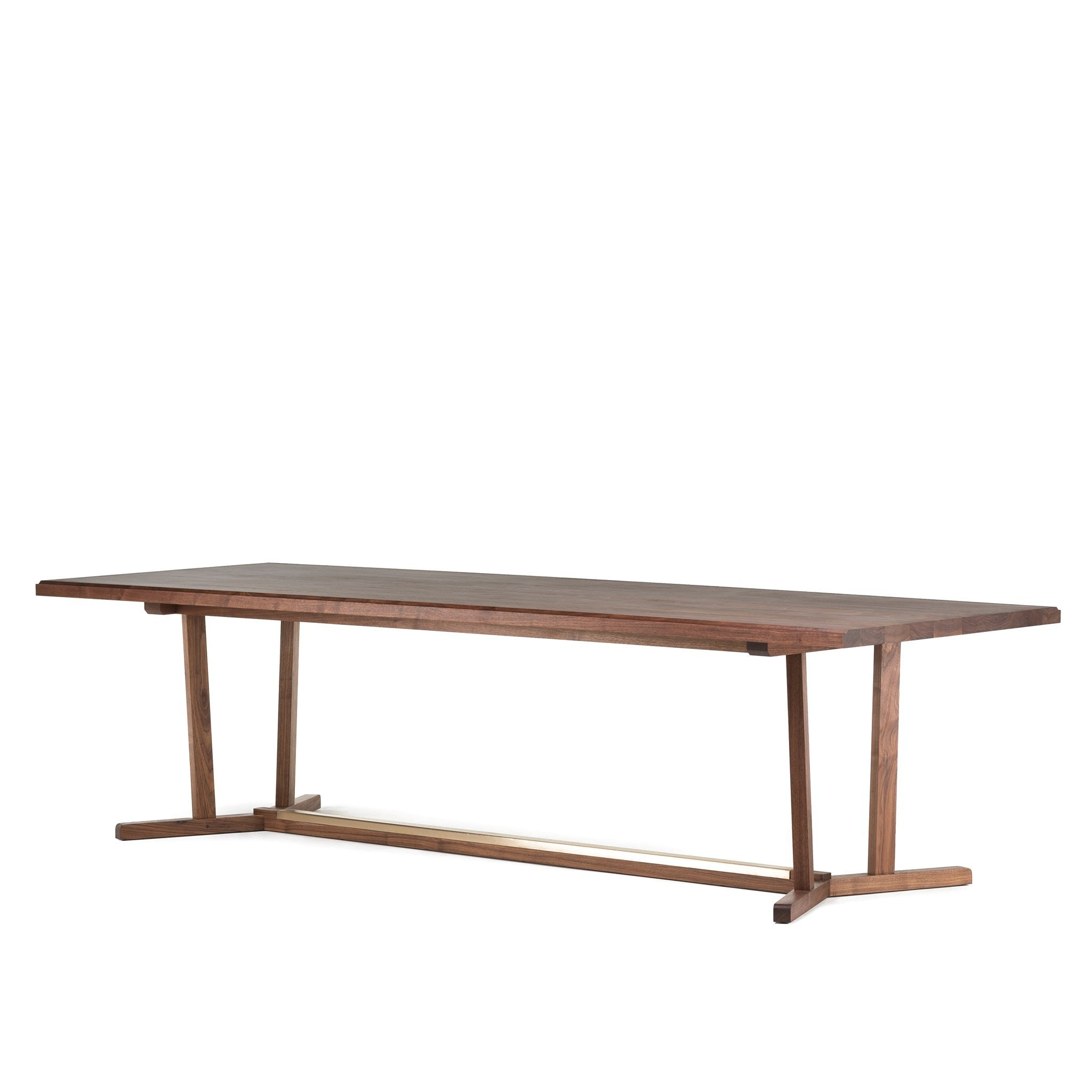 Shaker Dining Table Timber Top by Neri & Hu