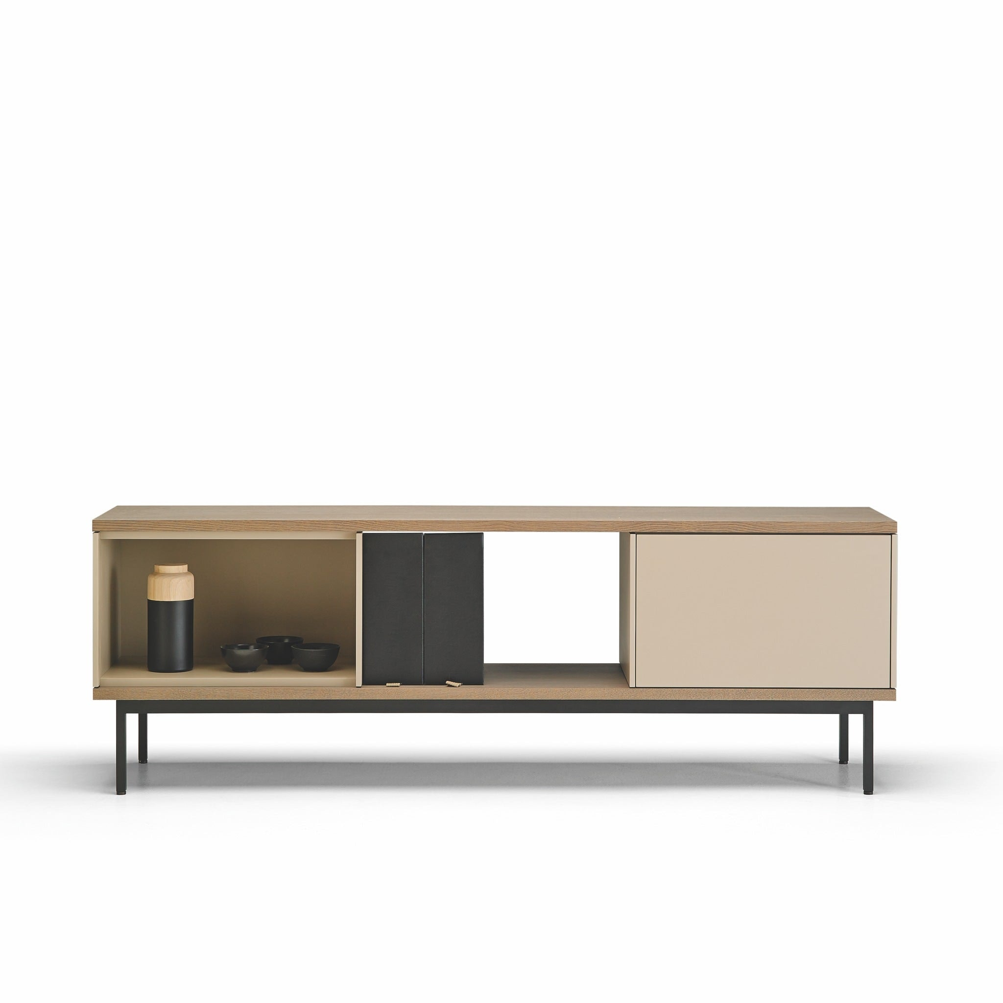 Slats Sideboard With Legs by Punt