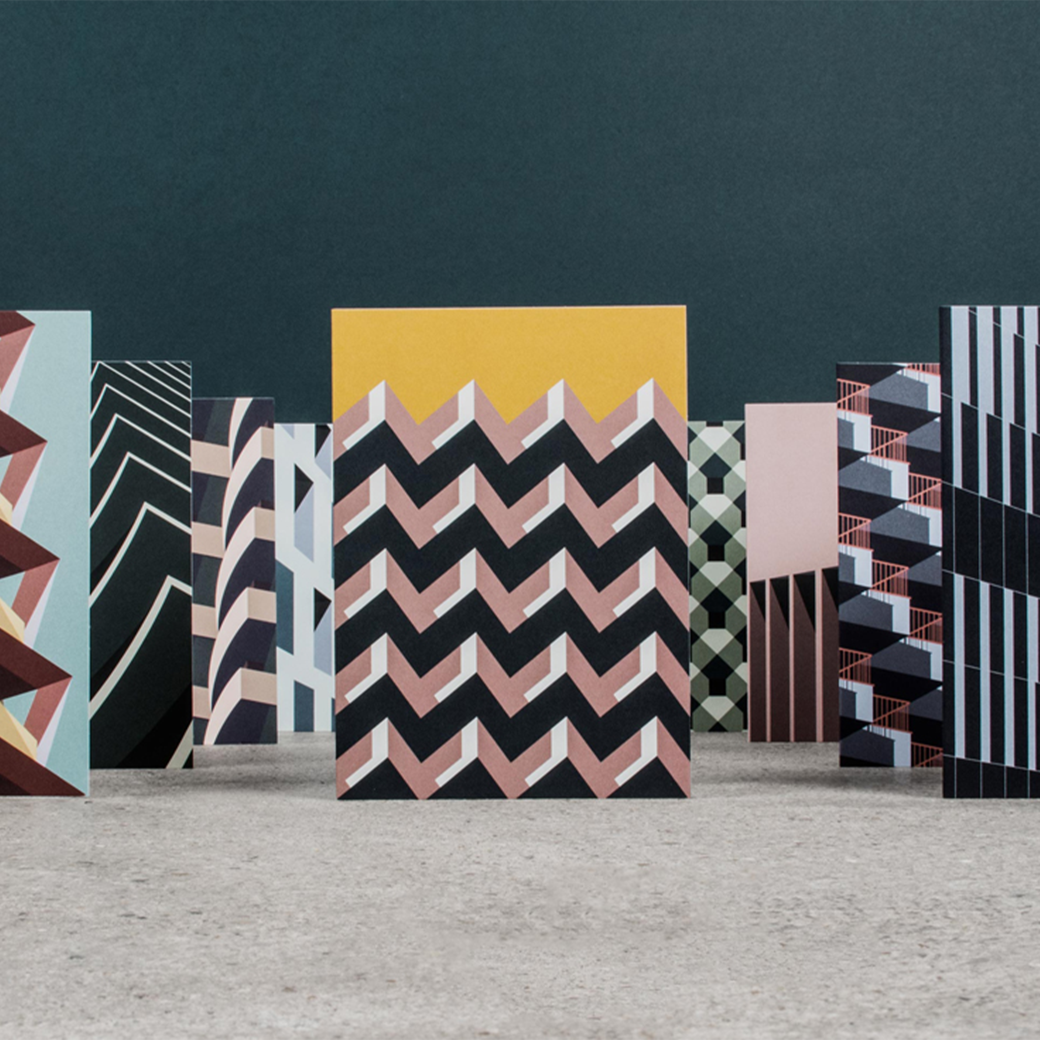 Architectural Cards by Case