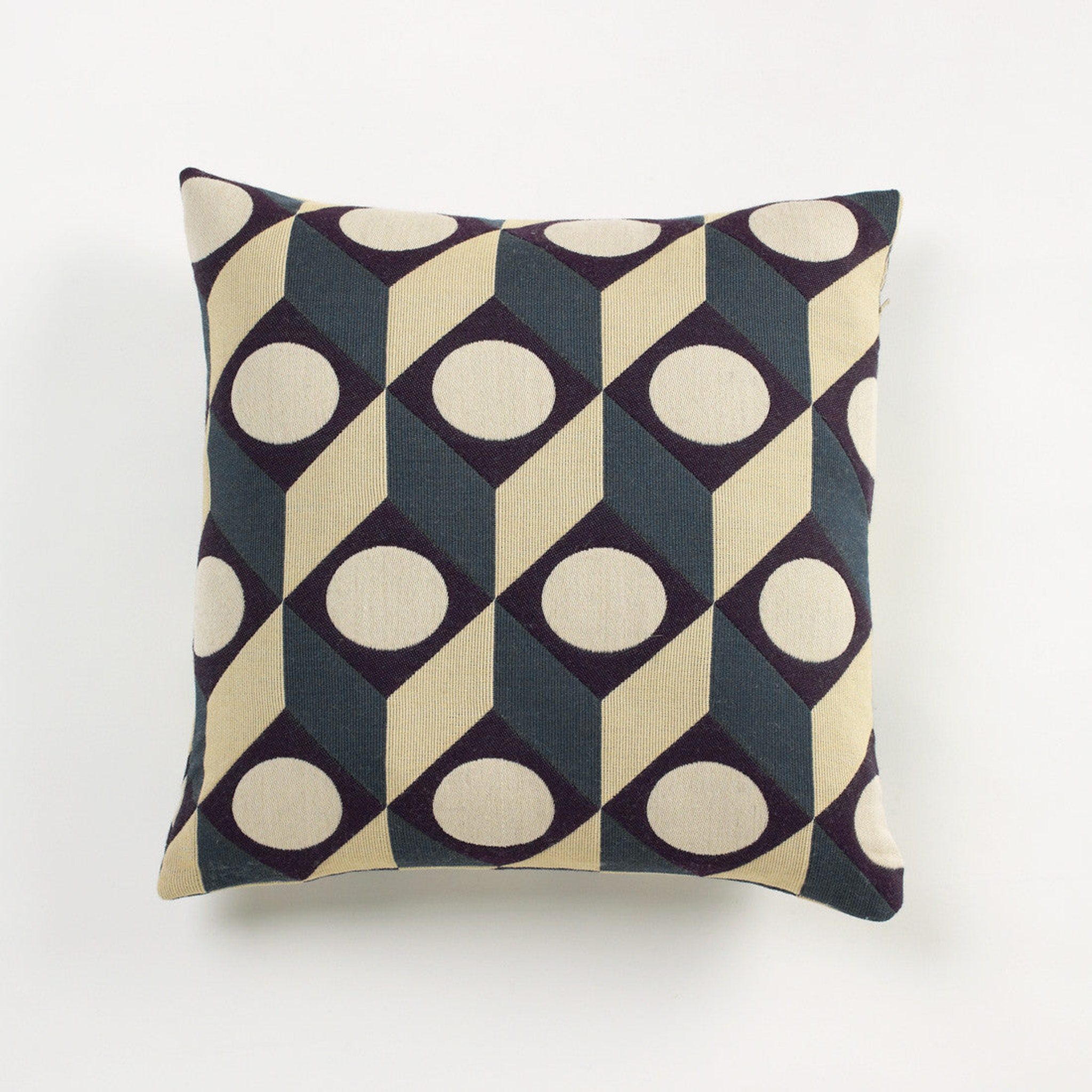 Large Cubes Cushion by Another Country