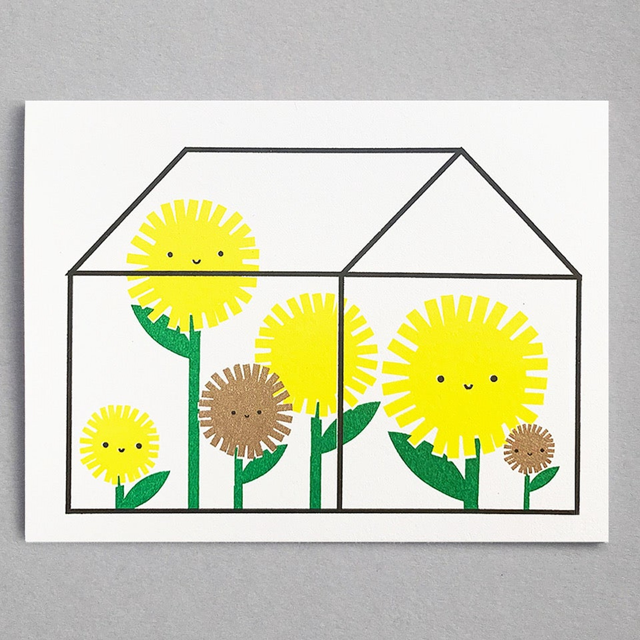 Sunflower House Mini Card by Scout Editions