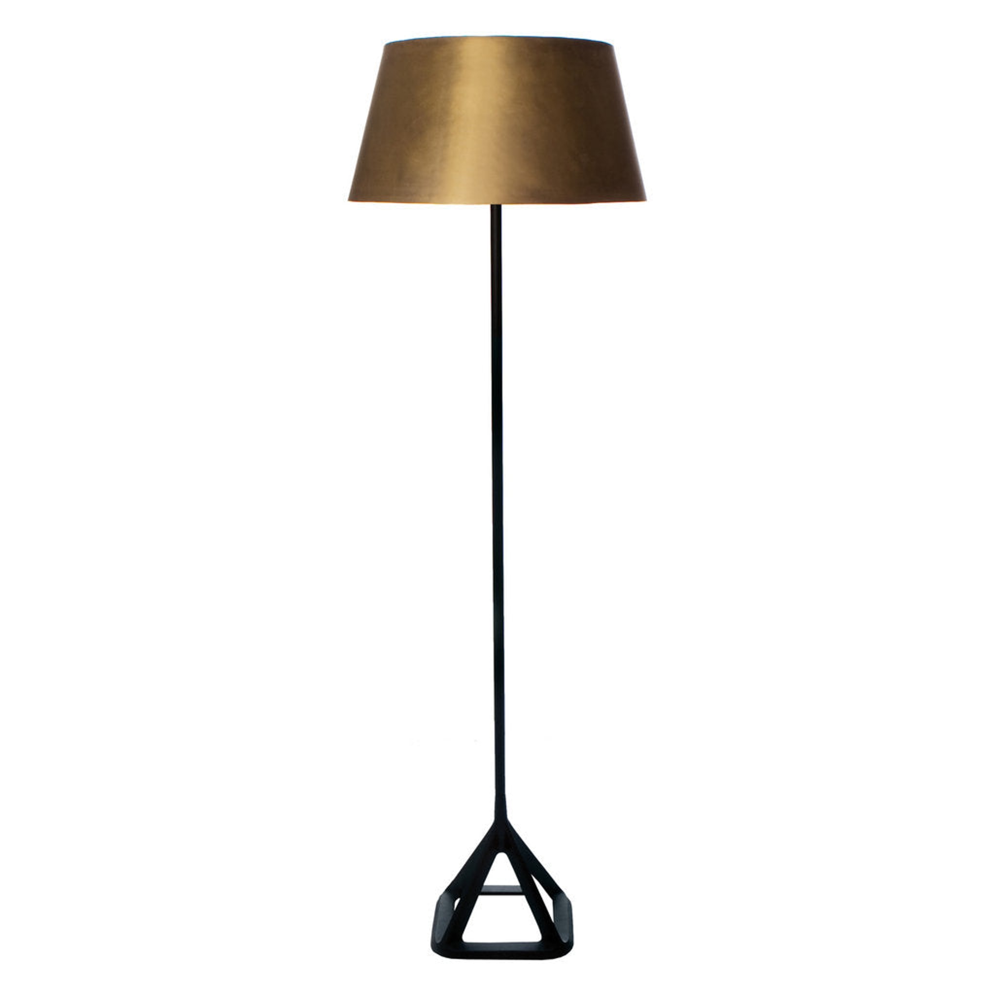 Base Brass Floor Light by Tom Dixon