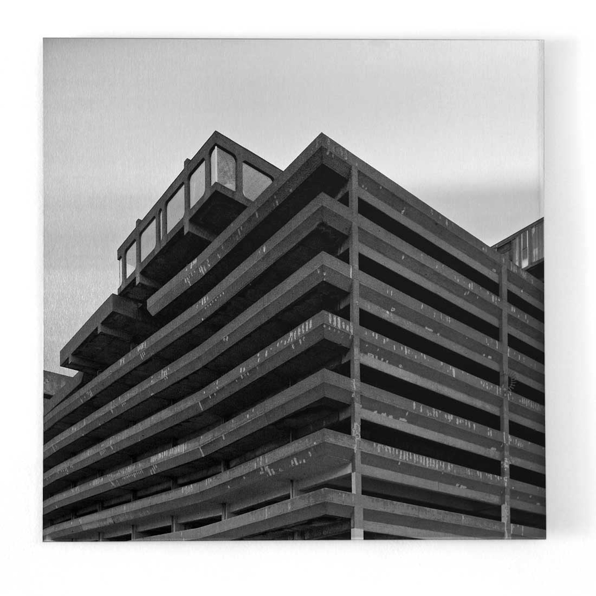 Trinity Square Car Park Print by Simon Phipps