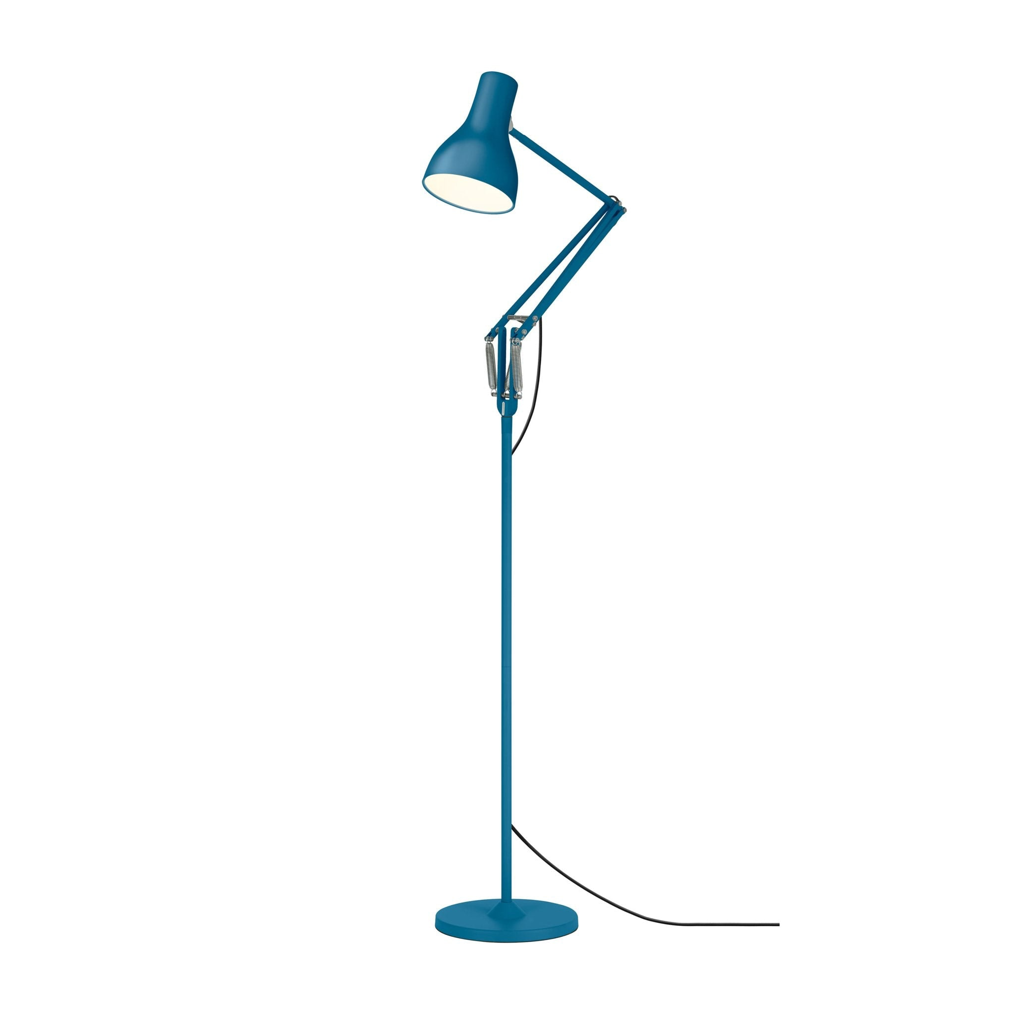 Type 75 Floor Lamp Saxon Blue Edition by Anglepoise
