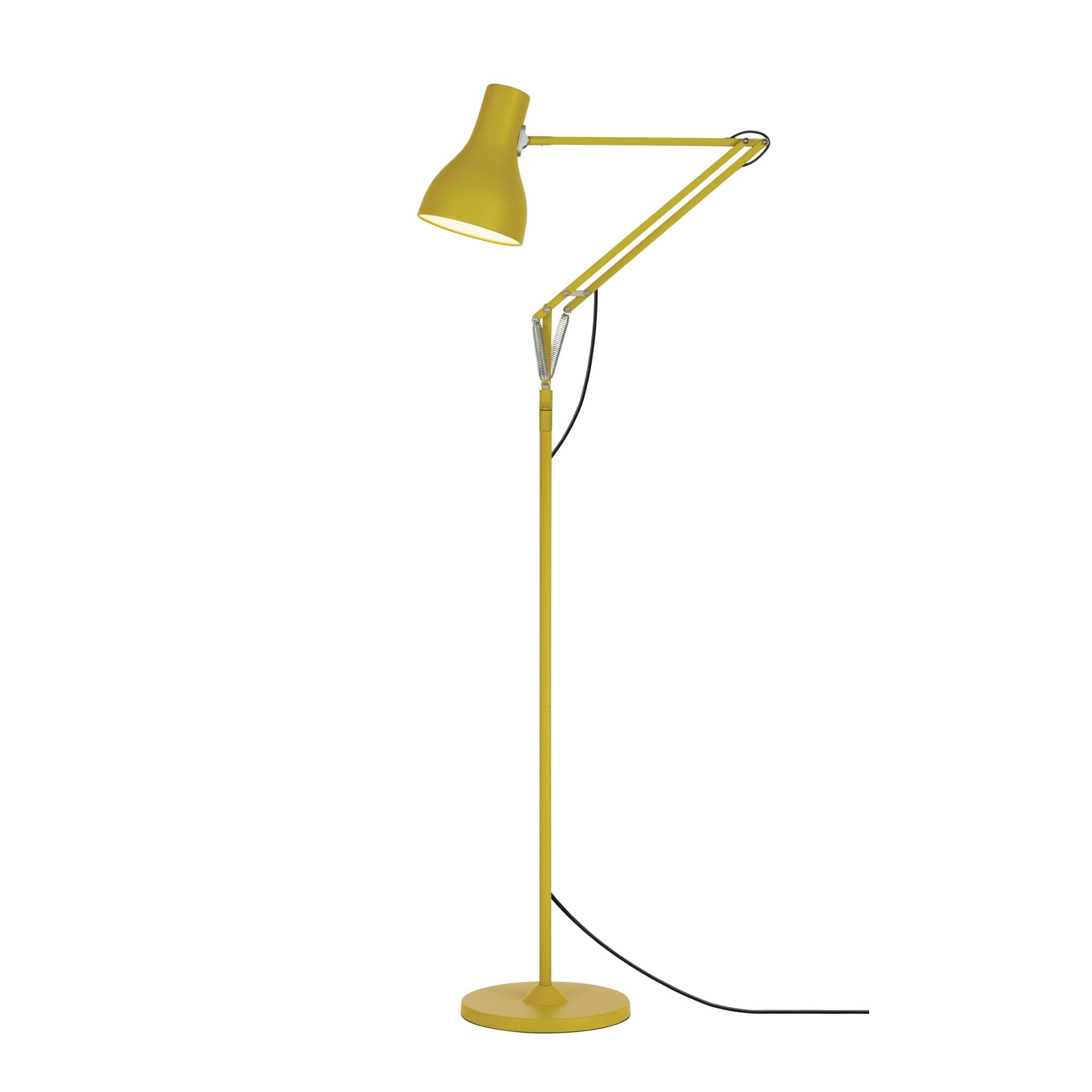 Type 75 Floor Lamp Yellow Ochre Edition by Anglepoise
