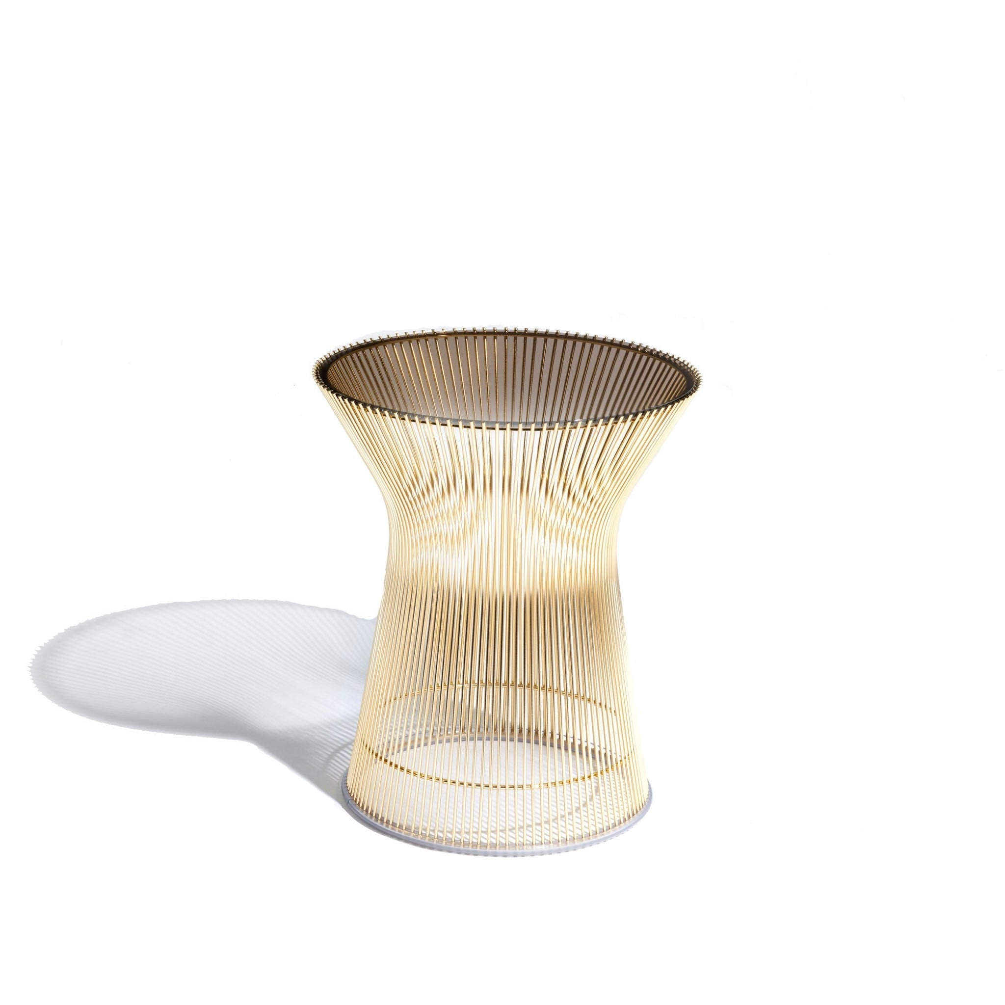 Platner Side Table in Gold by Knoll