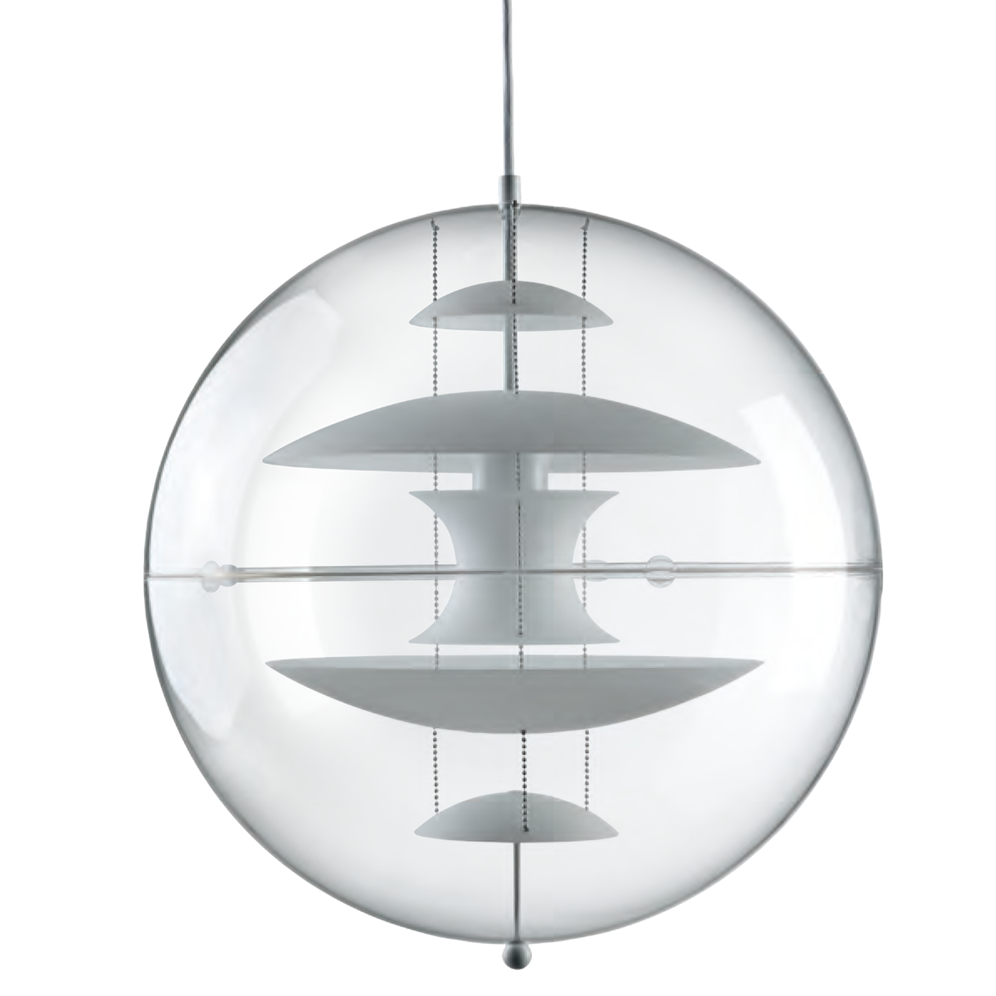 VP Globe Glass Pendant by Verpan